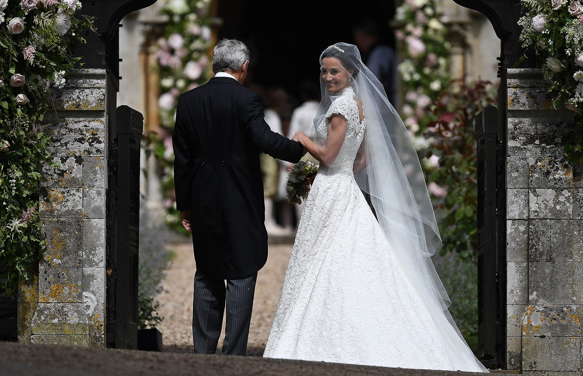 BRITAIN-ROYALS-PEOPLE-MIDDLETON-MARRIAGE
