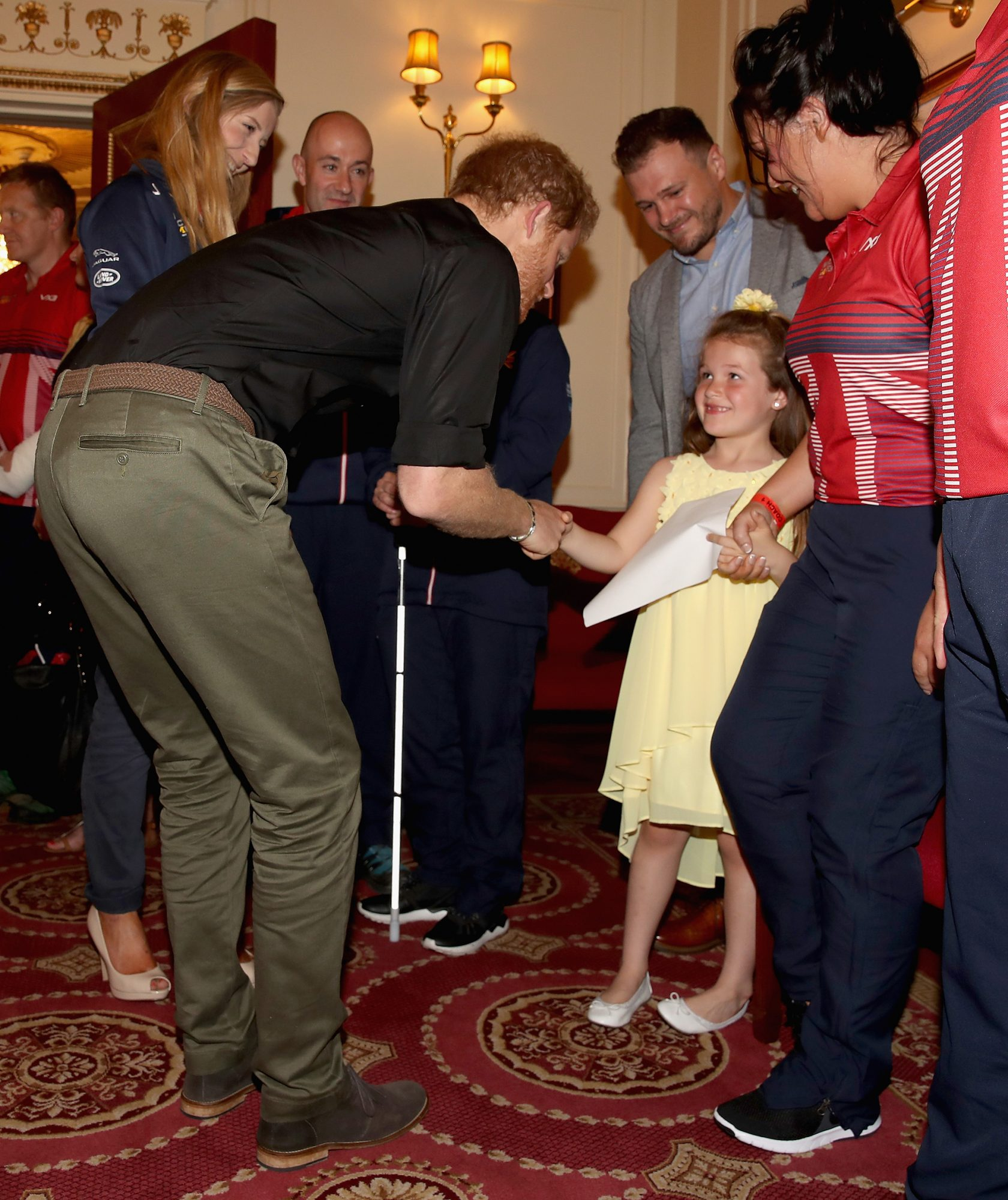 Prince Harry Attends UK Team Launch For Invictus Games Toronto 2017