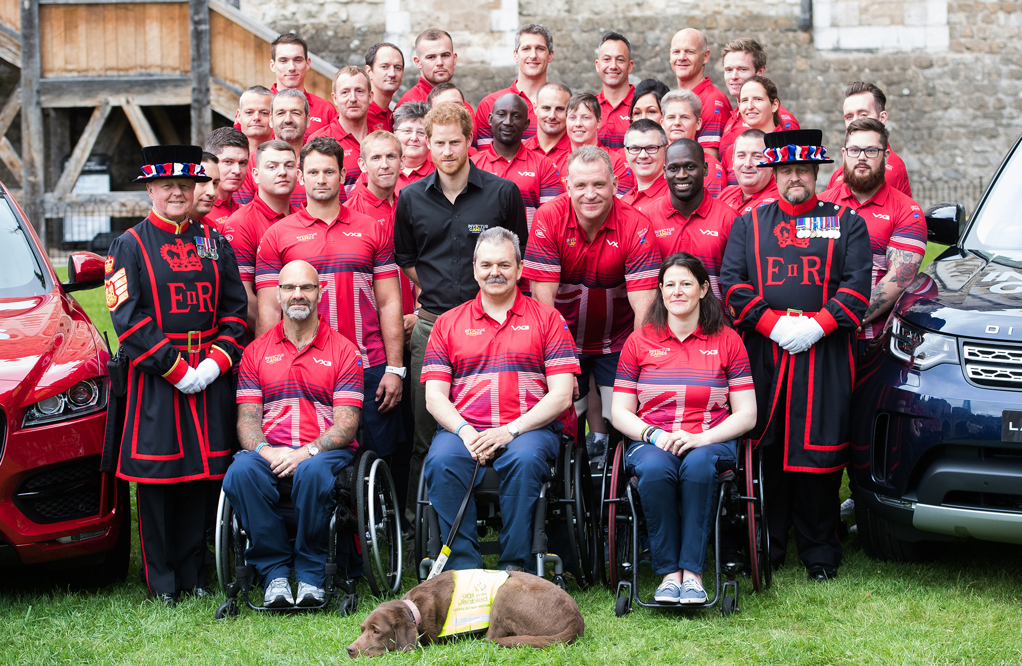 Prince Harry Attends UK Team Launch For Invictus Games Toronto 2017 - Tower Of London