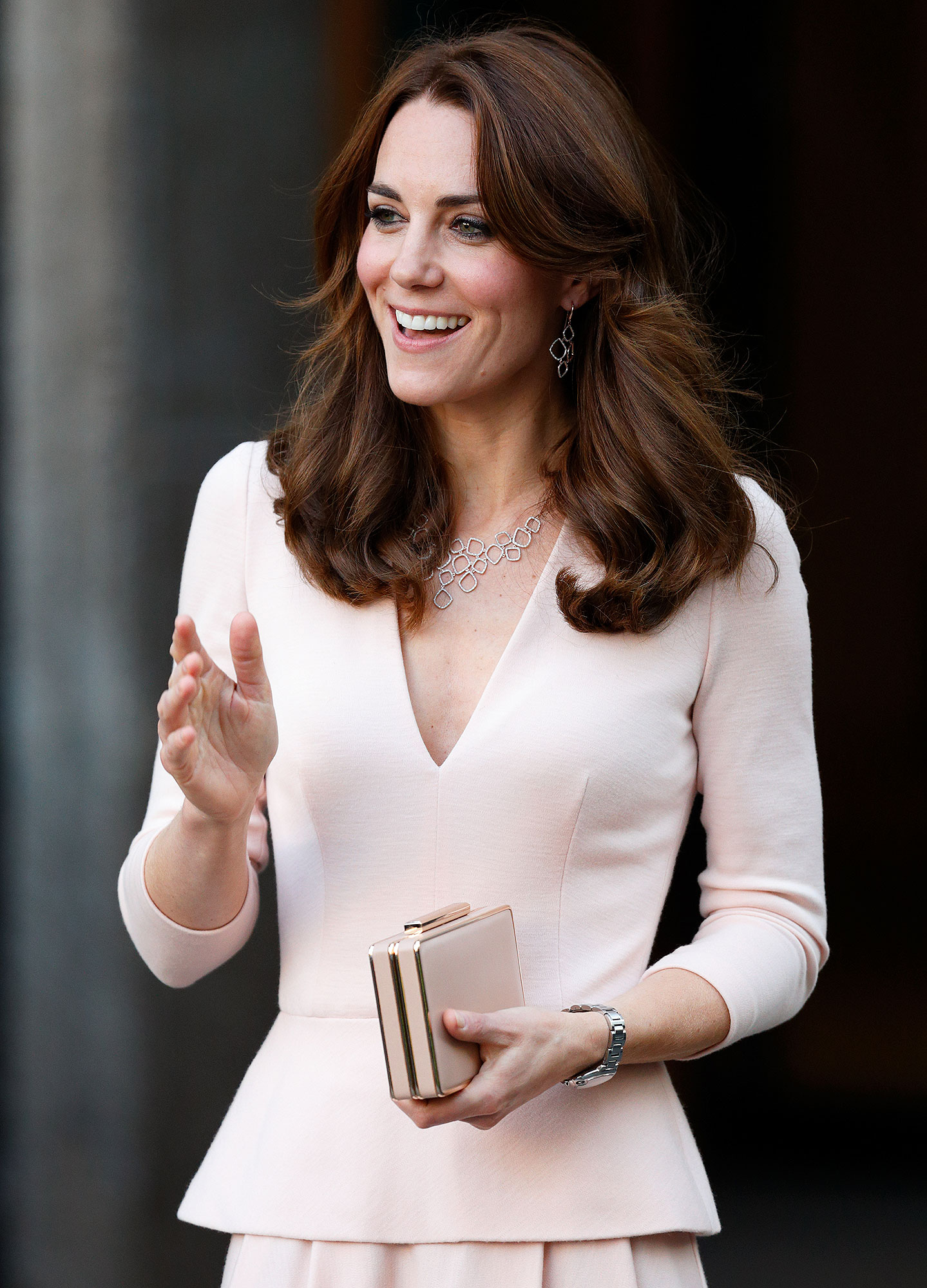 "The Duchess Of Cambridge Visits The ""Vogue 100: A Century Of Style"" Exhibition"