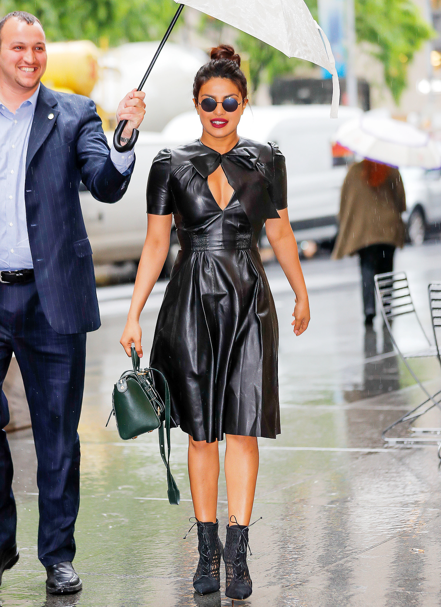 Celebrity Sightings in New York City - May 22, 2017