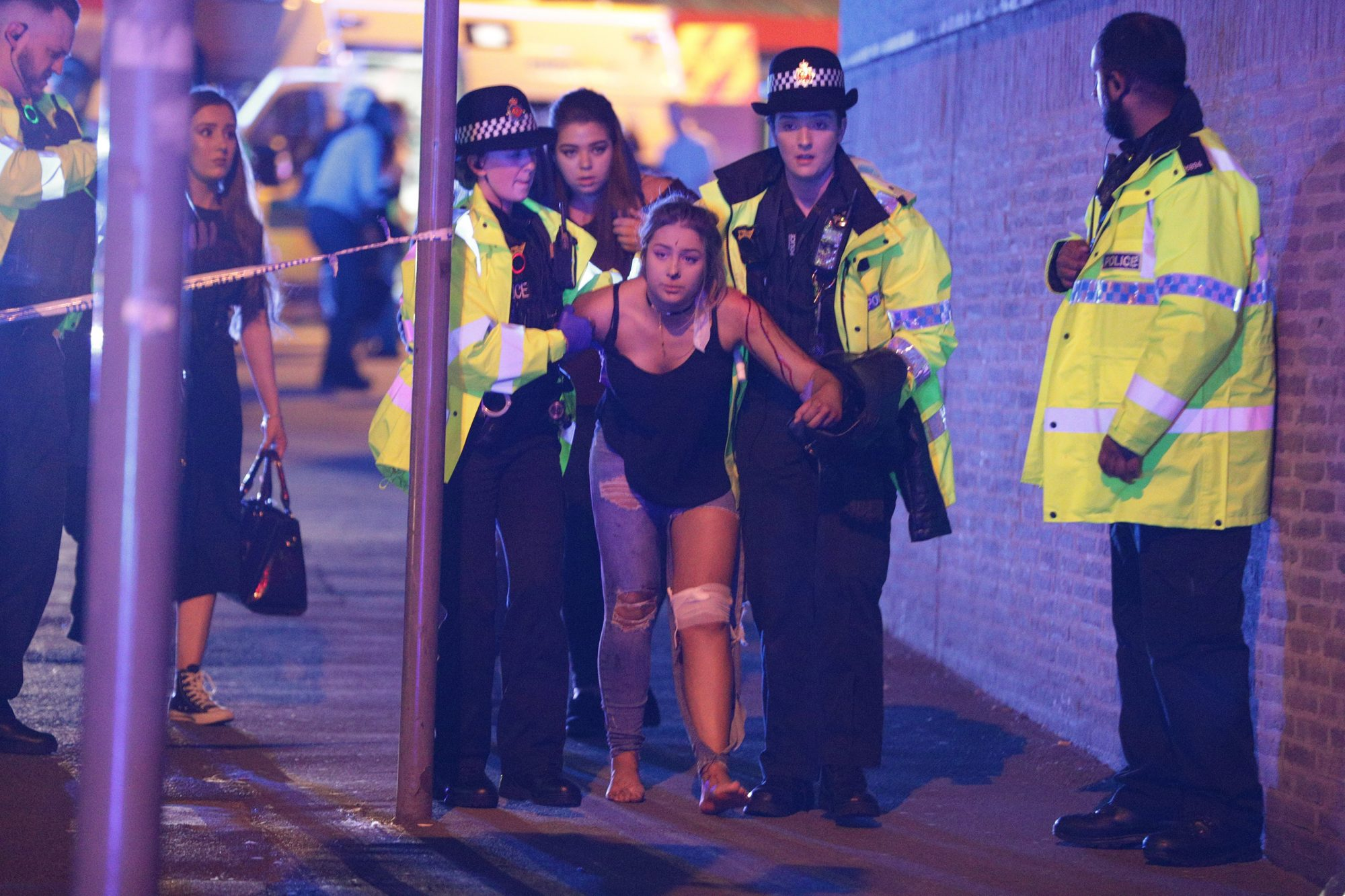 Explosion at Manchester Arena, UK - 22 May 2017