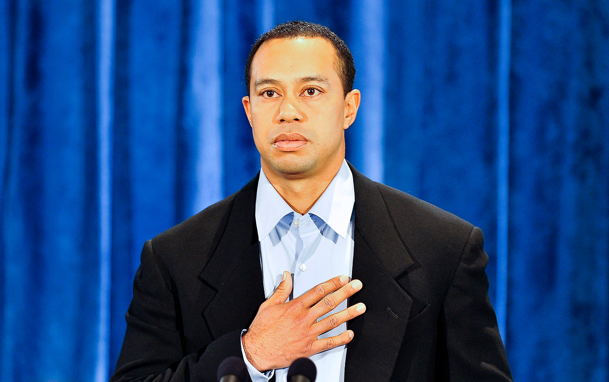 Golfer Tiger Woods Apologizes In First Appearance Since Self-Imposed Exile