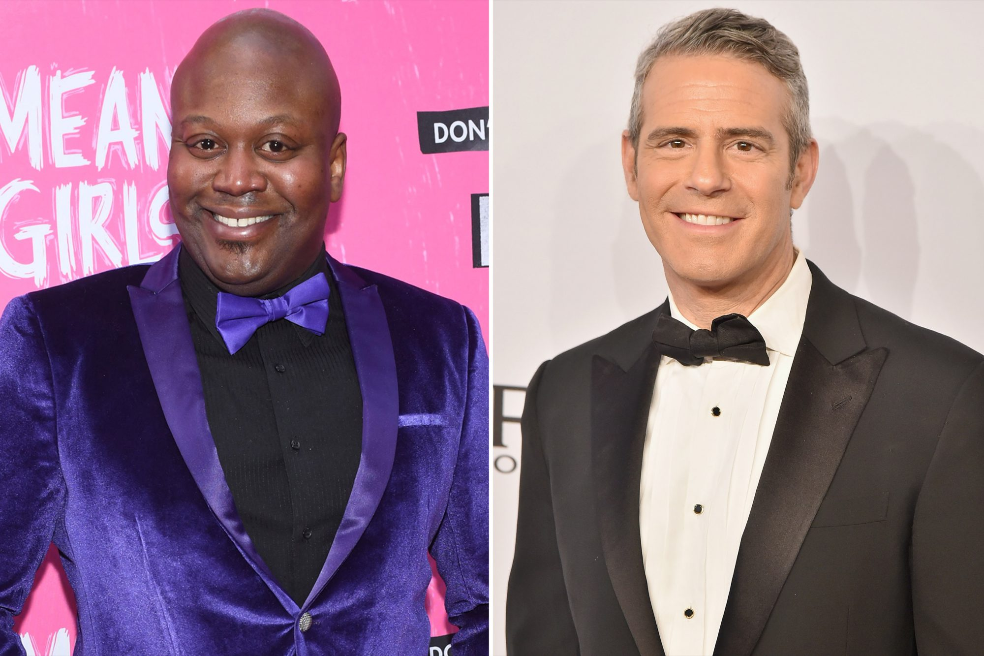 Tituss Burgess, Andy Cohen