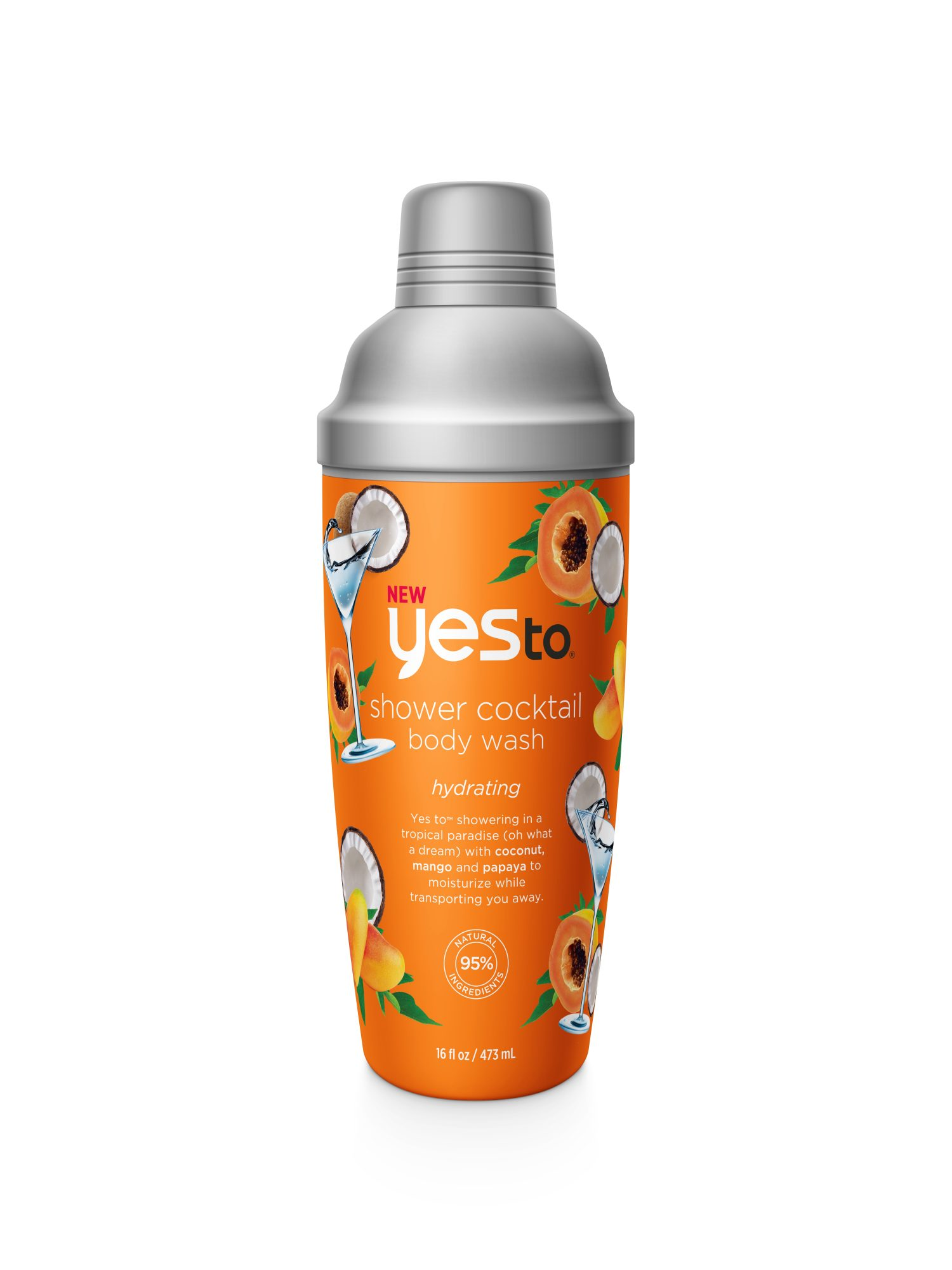 Yes To Tropical Cocktail Body Wash_