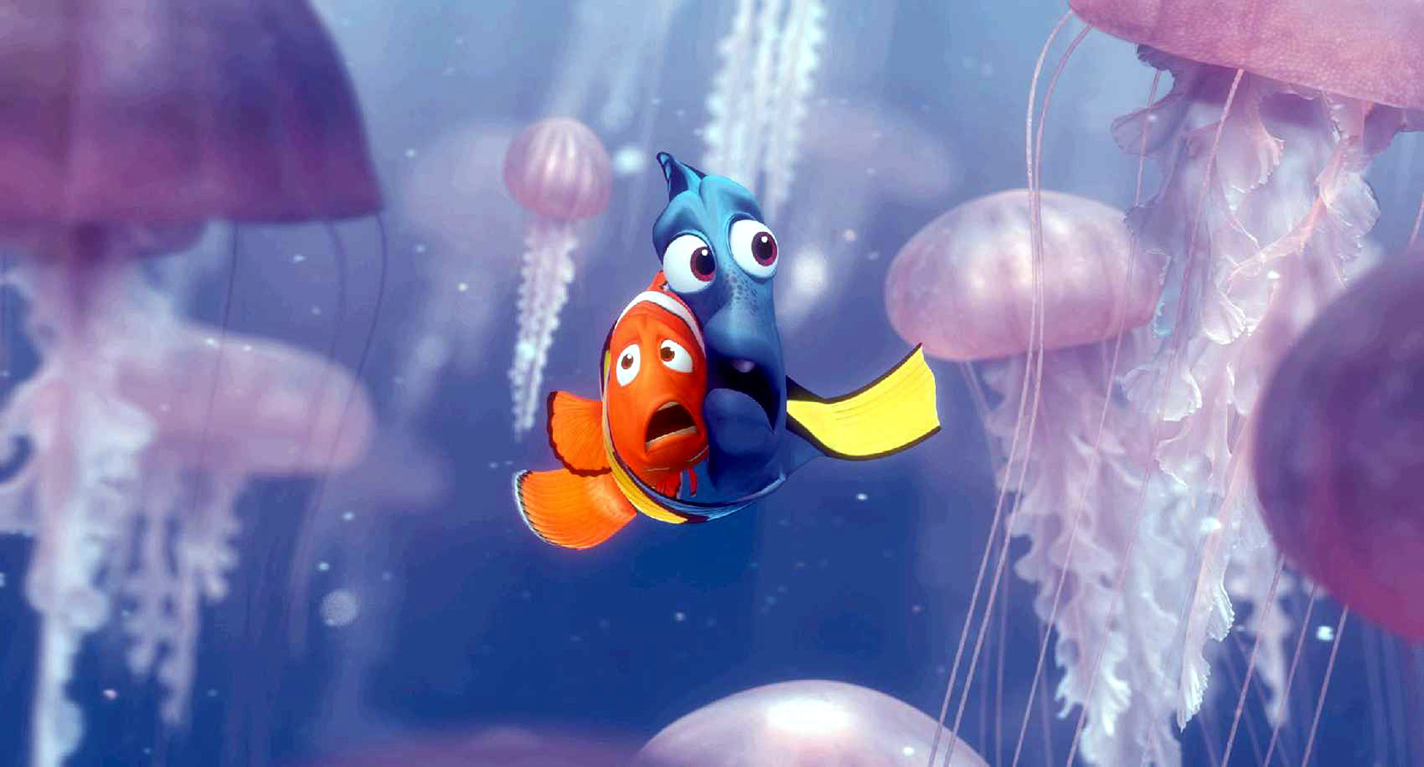 FINDING NEMO, Dory, Marlin, 2003, (c) Walt Disney/courtesy Everett Collection