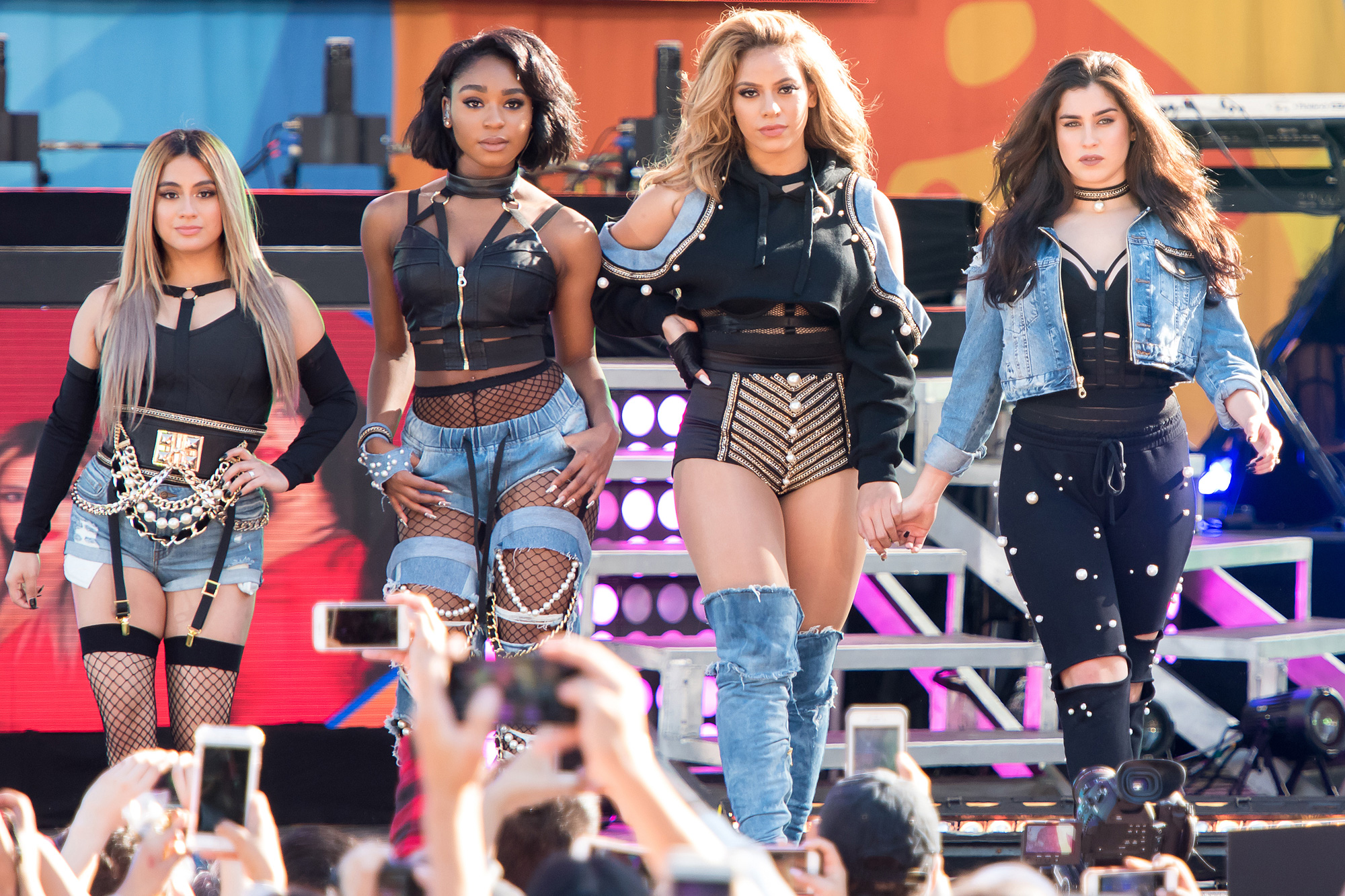 "Fifth Harmony Performs On ABC's ""Good Morning America"""