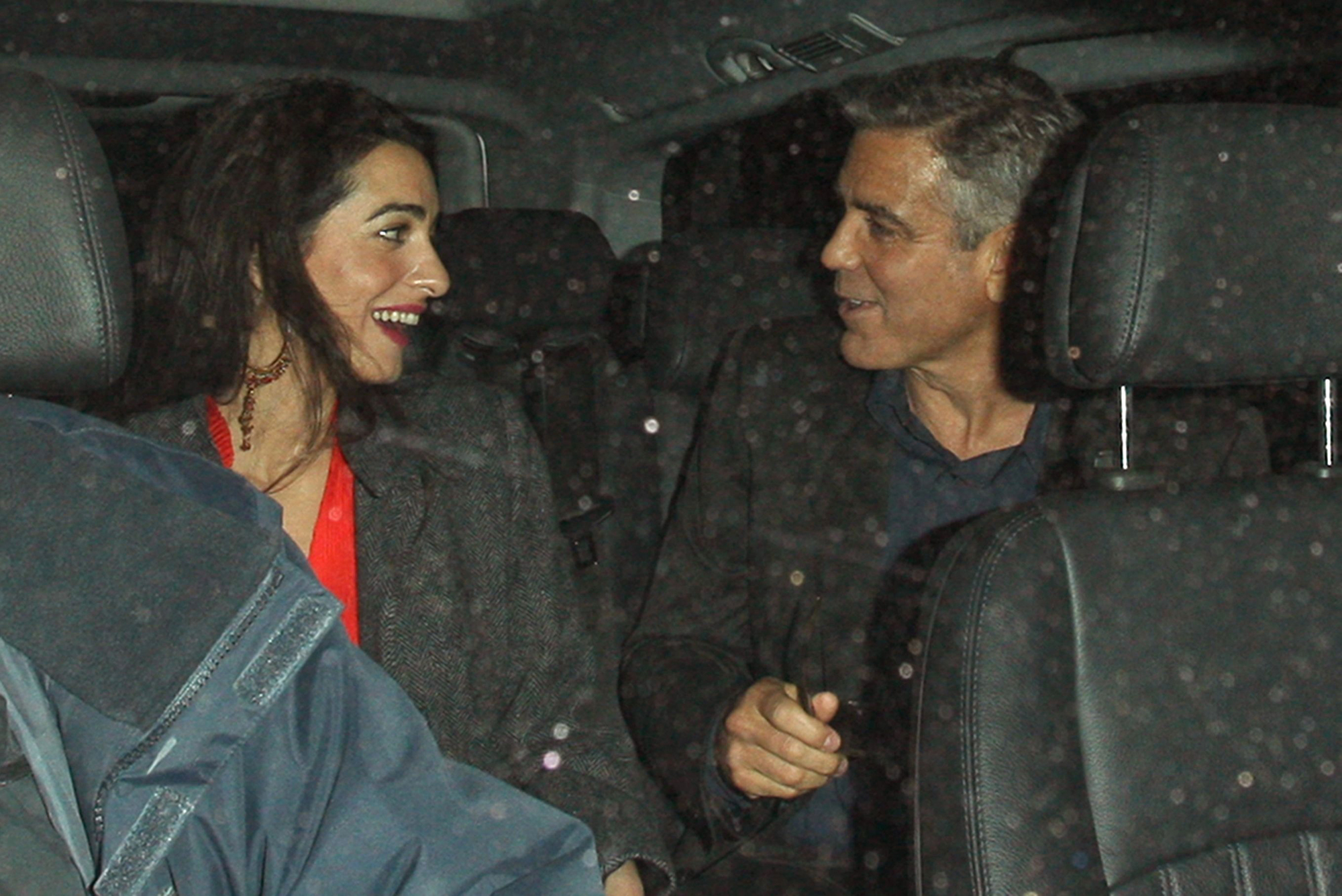 Grab Cut Insert Cut George Clooney out and about, London, Britain - 24 Oct 2013