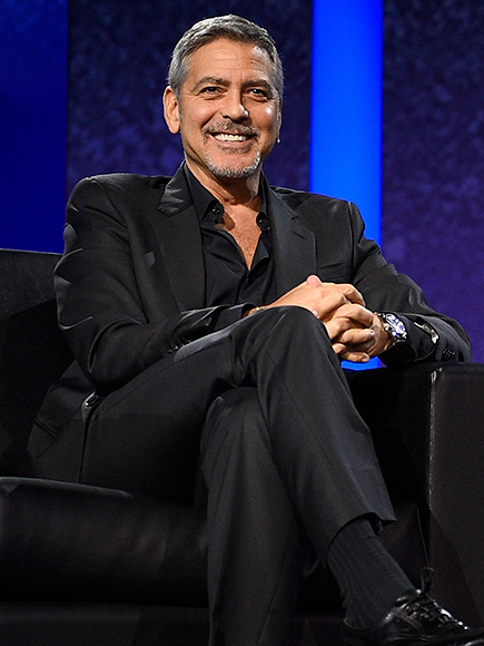 GEORGE CLOONEY: YOU CAN'T ENJOY SIMPLE PLEASURES
