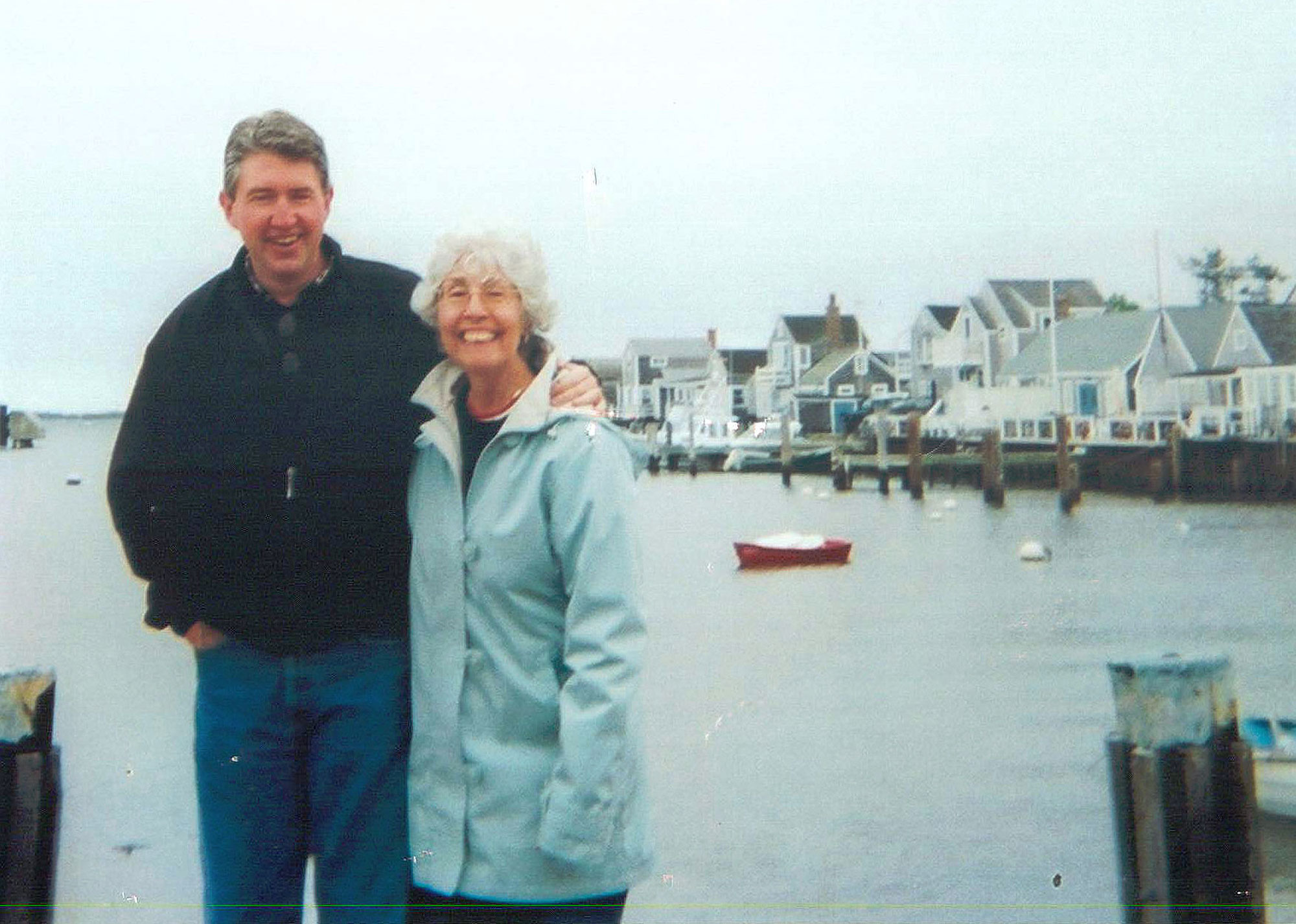 Ginny and Kevin in nantucket 1999Courtesy Kevin Jameson