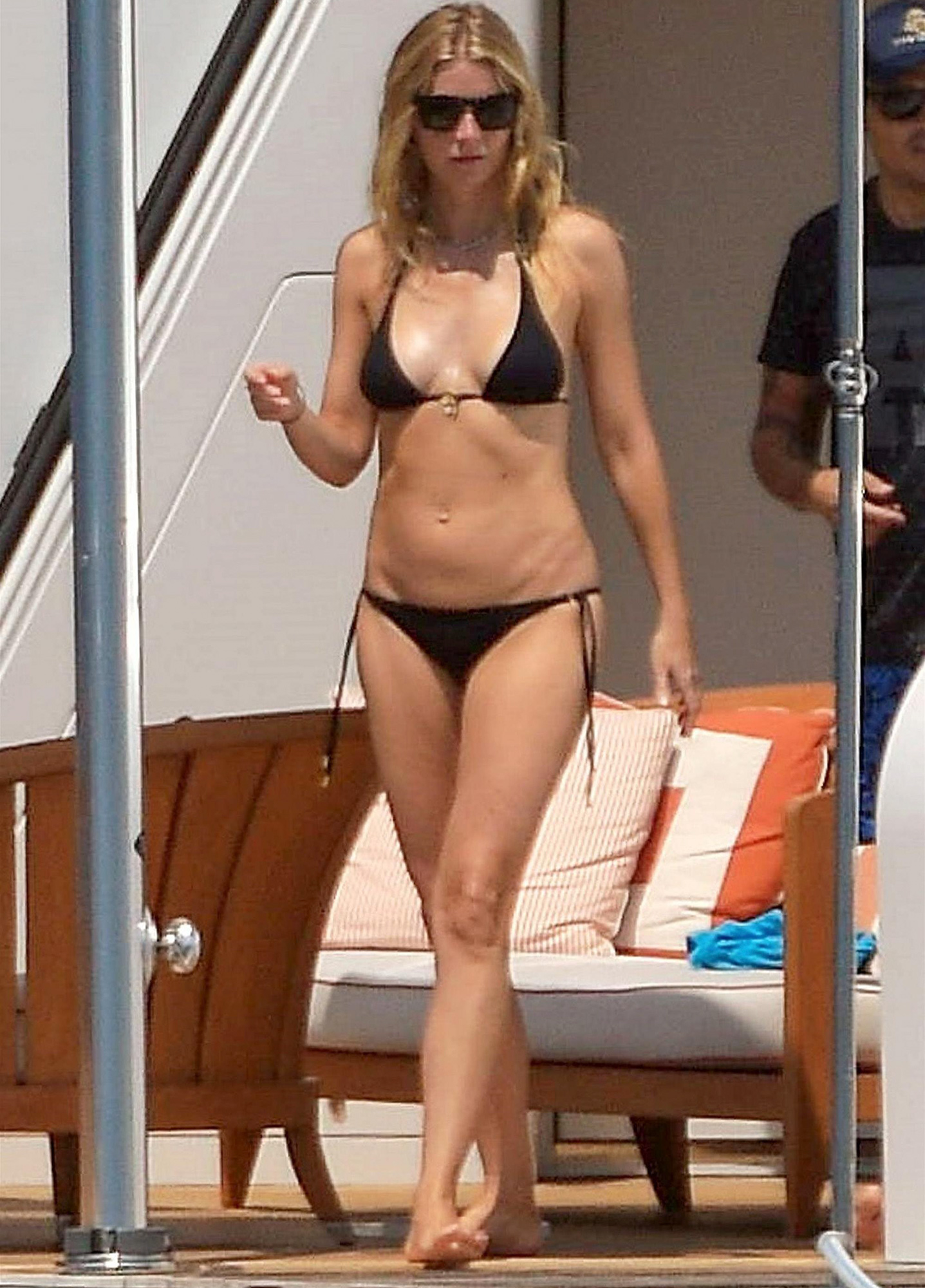 *EXCLUSIVE* Gwyneth Paltrow shows off her incredible physique in St Tropez
