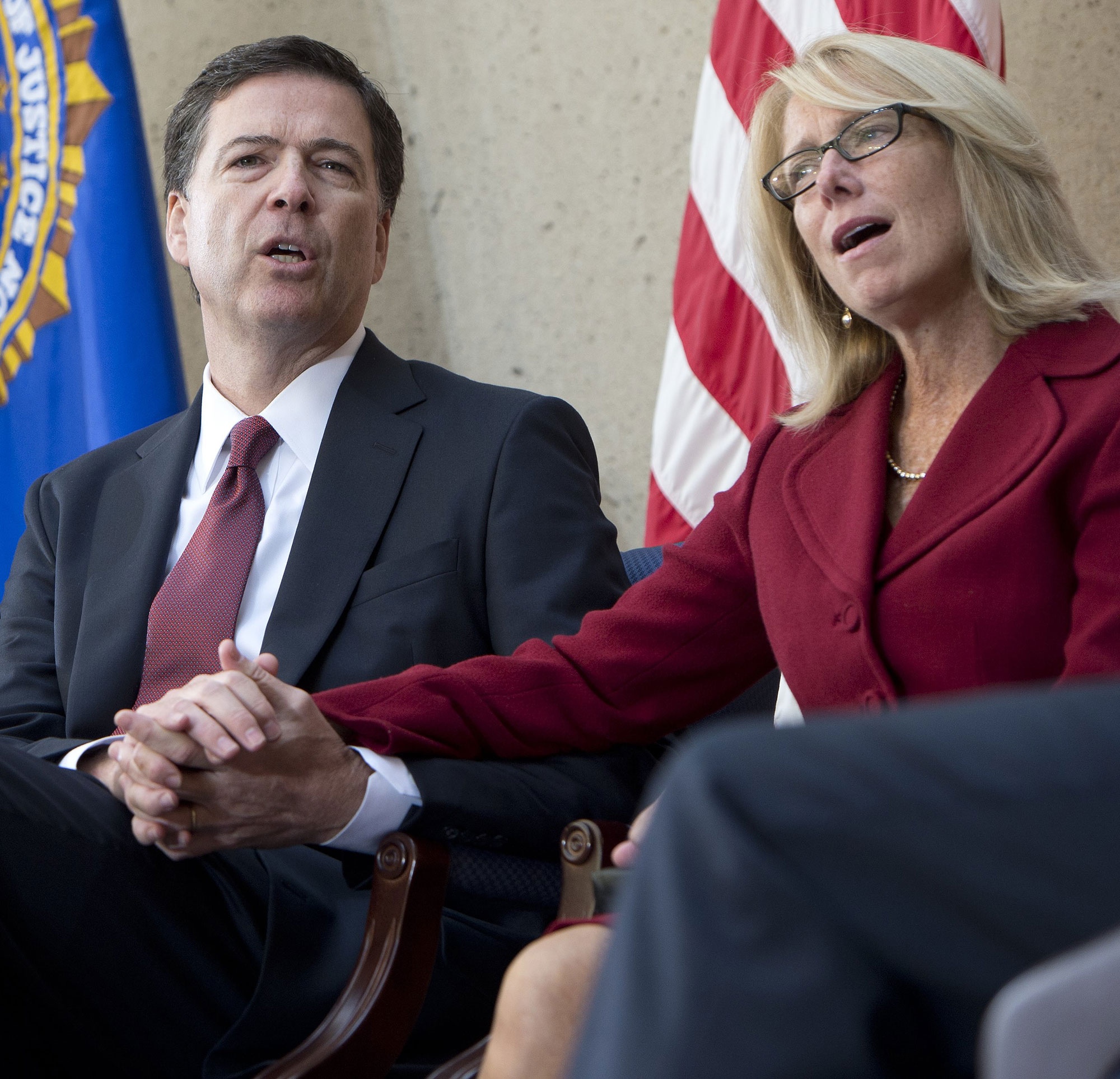 James Comey with wife Patrice Failor in 2013