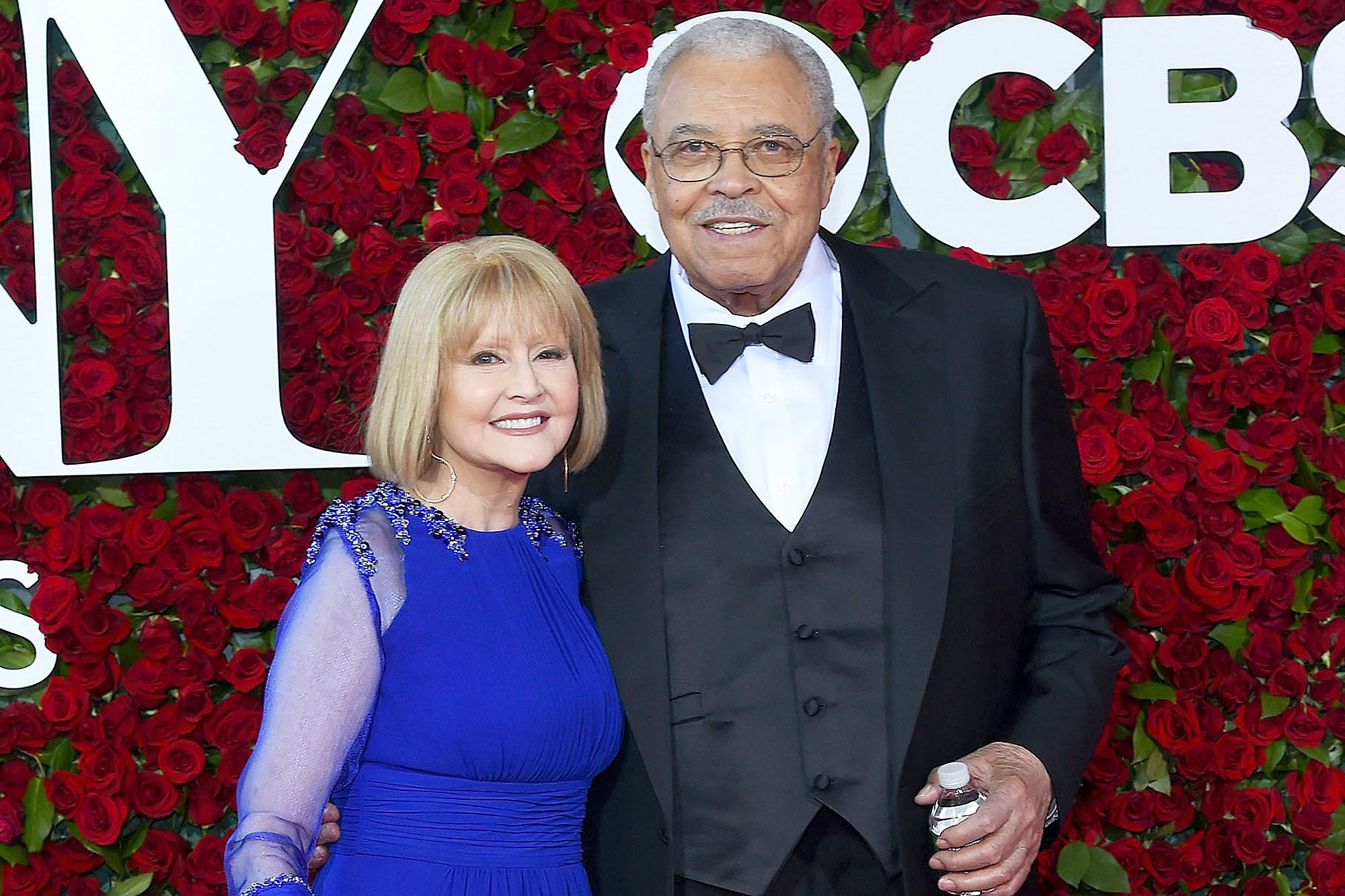 NEW YORK, NY - JUNE 12: Actors Cecilia Hart (L) and James Earl Jones attend the 70th Annual Tony Awards at The Beacon Theatre on June 12, 2016 in New York City. (Photo by Ben Gabbe/Getty Images)
