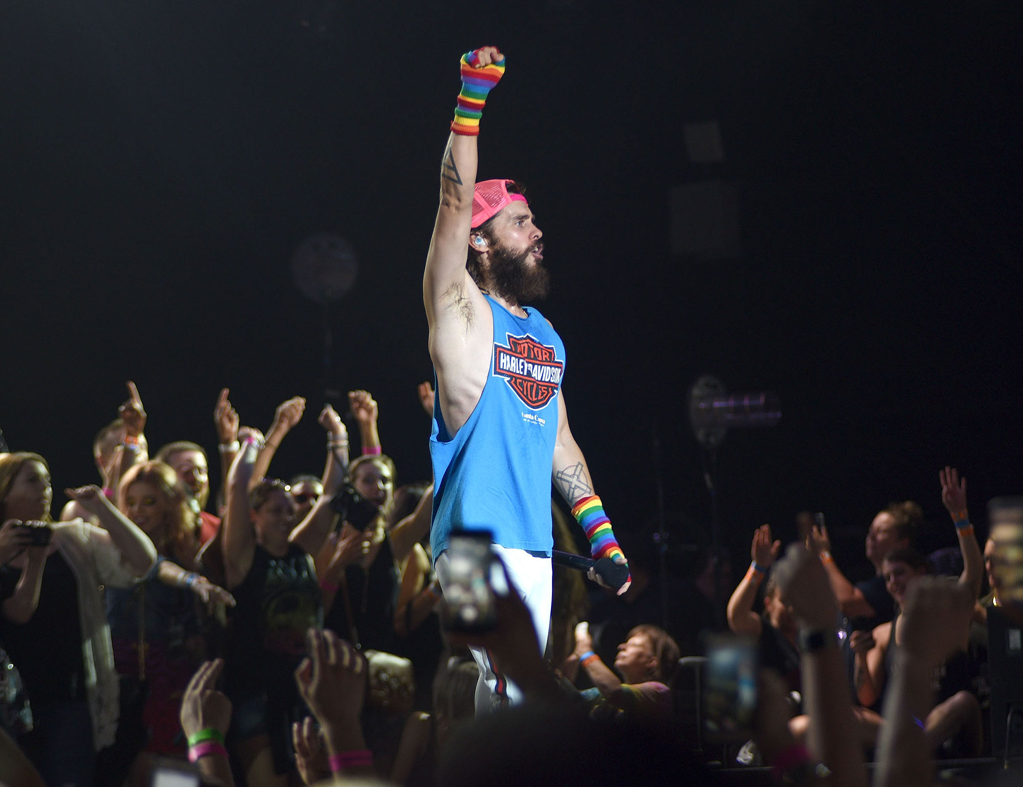Thirty Seconds To Mars Plays The  Hollywood Casino Amphitheater In St. Louis, MO While On The Road With Muse