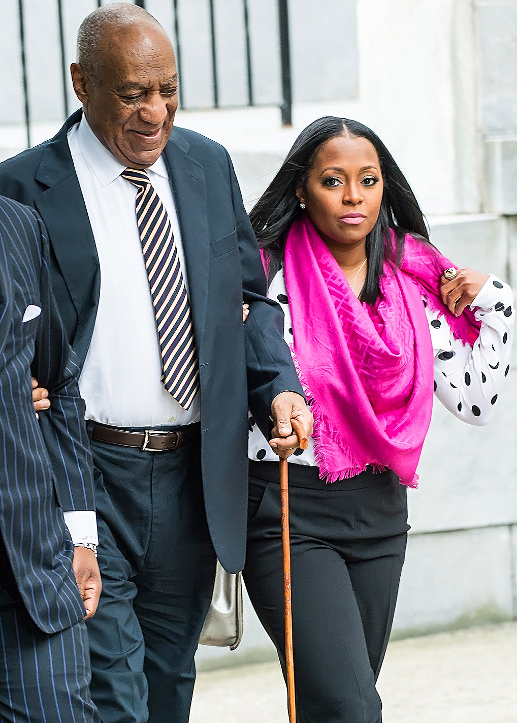 Bill Cosby  heads  to sexual assault trial at  Montgomery County Courthouse in Norristown, PA