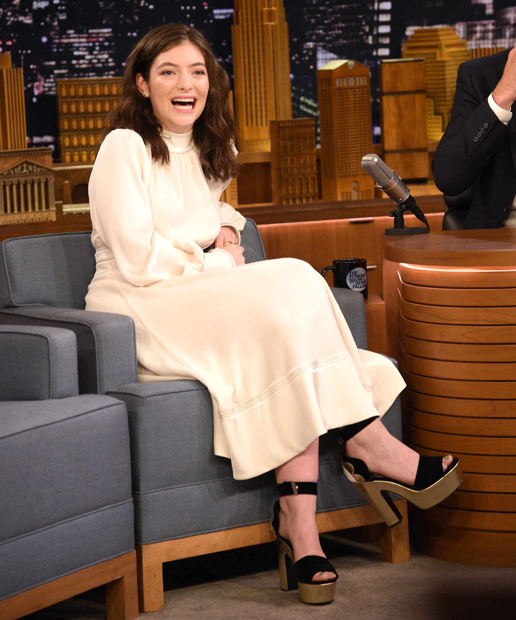 "Lorde Visits ""The Tonight Show Starring Jimmy Fallon"""
