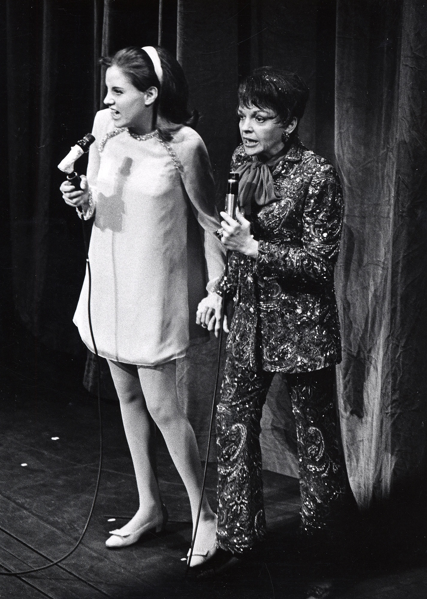 Judy Garland Performance at The Palace Theater - July 31, 1967