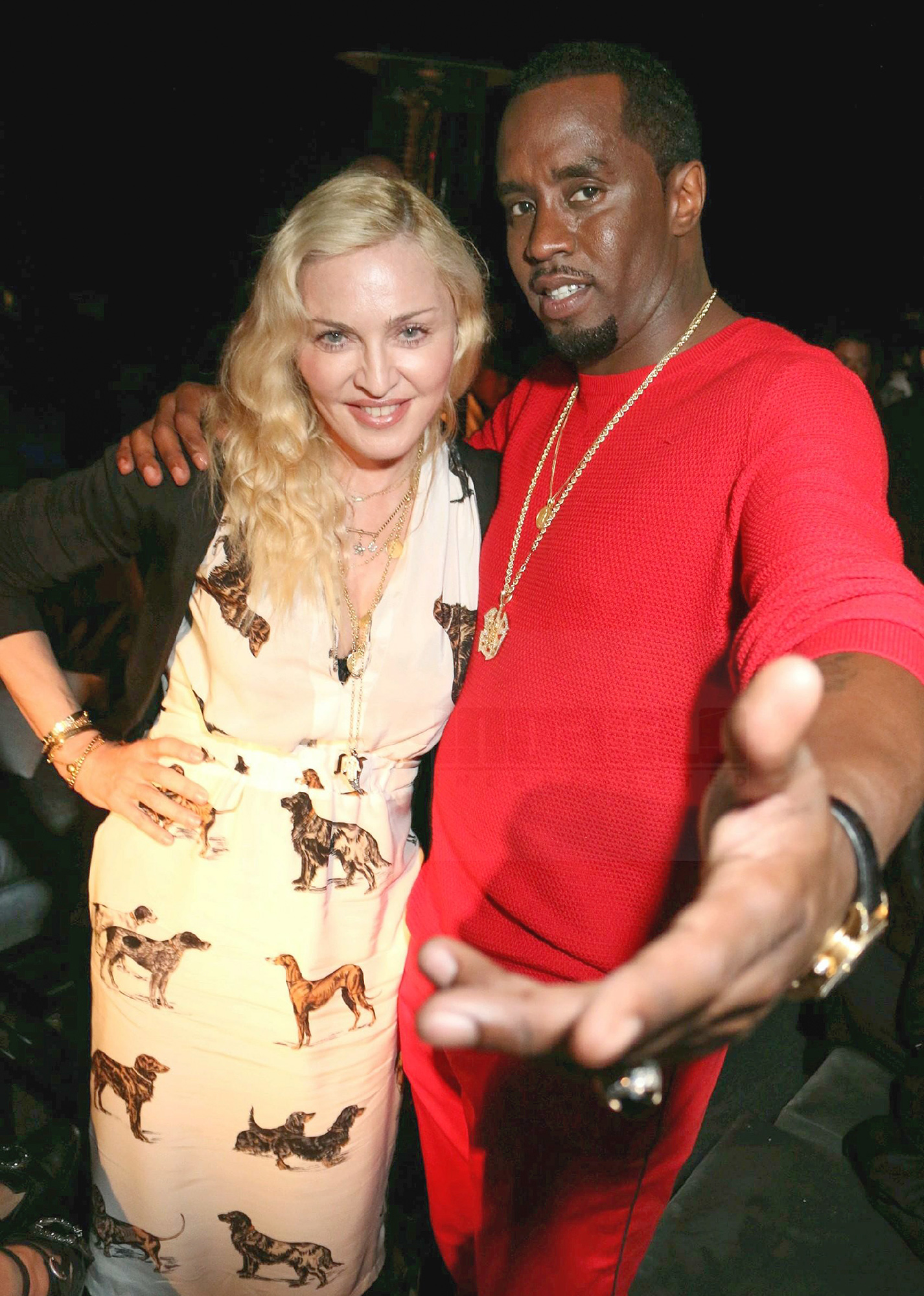 Madonna and Sean 'Diddy' Combs