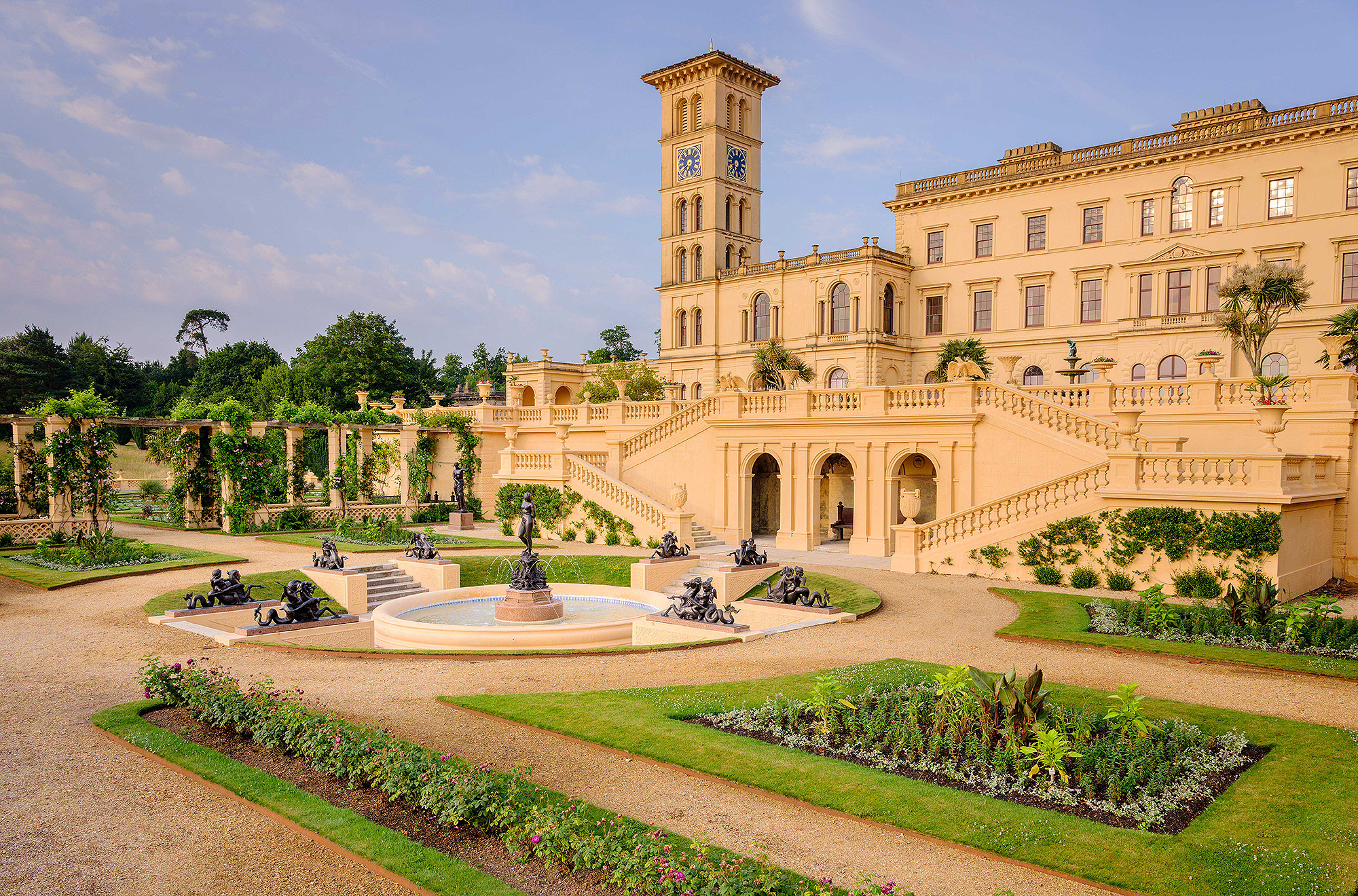 The restored Shell Alcove re-opened, Osbourne House, East Cowes, Isle of White, UK - 27 Jun 2017