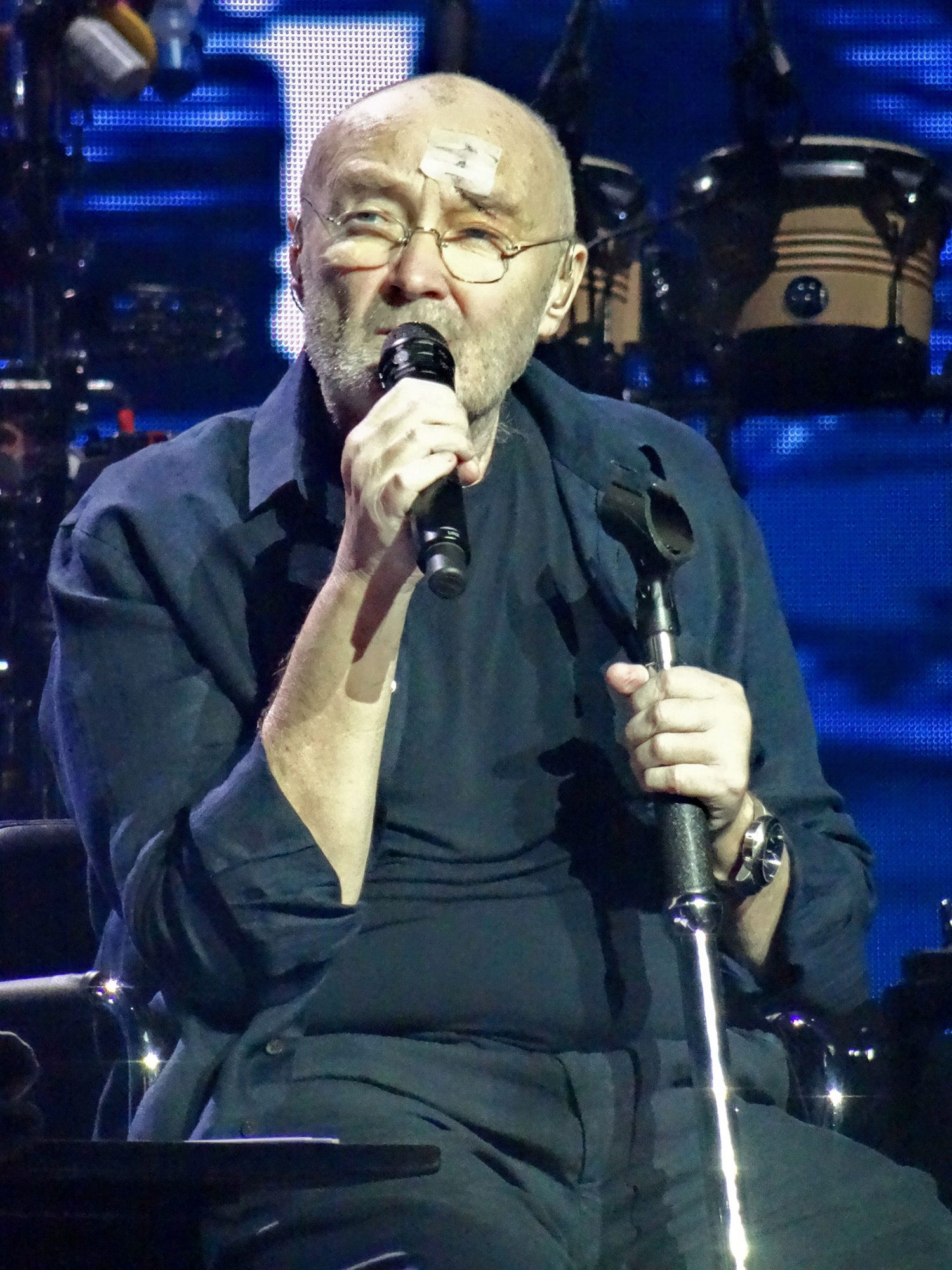 Phil Collins in concert at Lanxess Arena, Cologne ,Germany - 11 Jun 2017