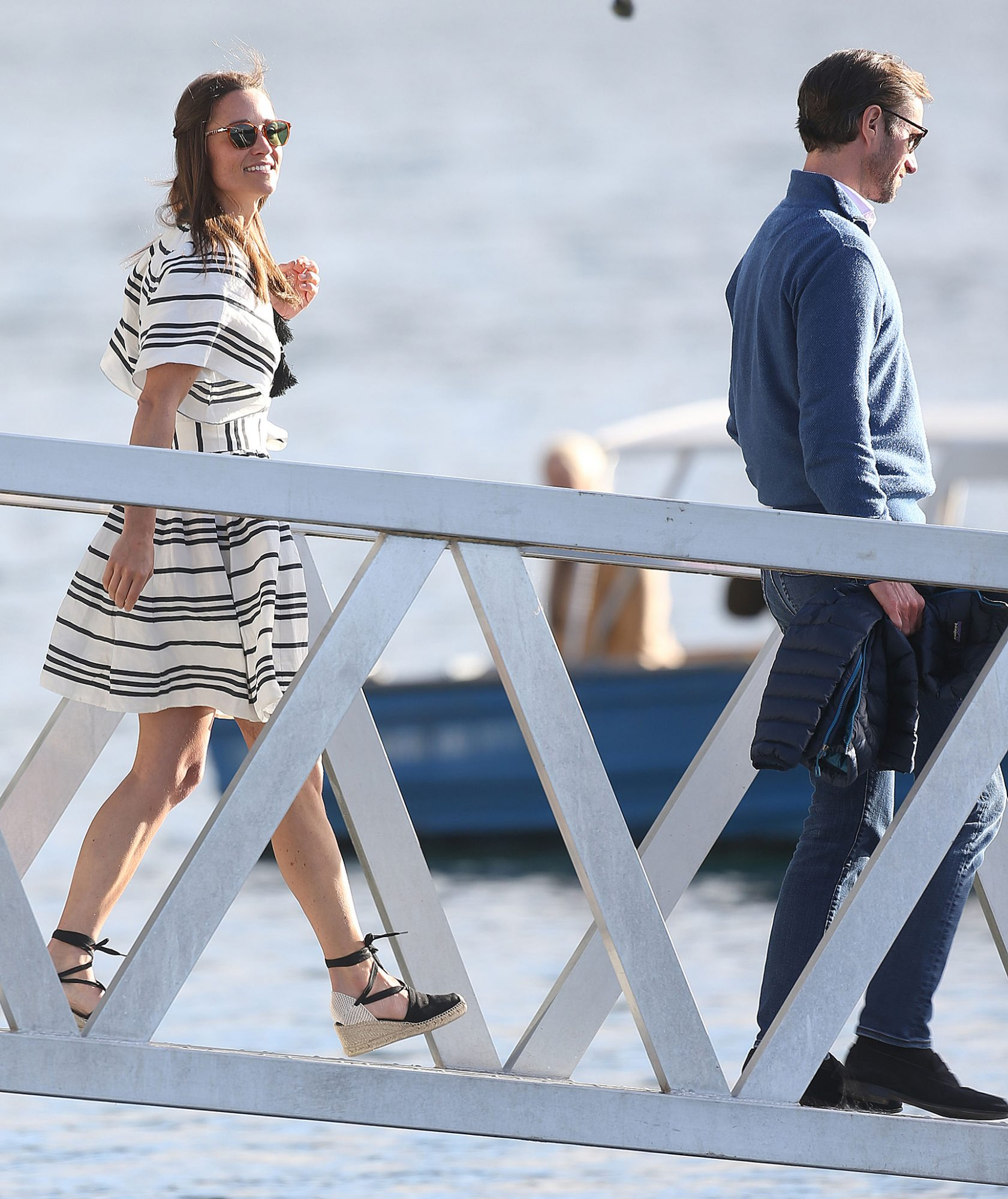 Pippa Middleton and James Matthews Take a Seaplane To Cottage Point Inn For Lunch During Their Honeymoon