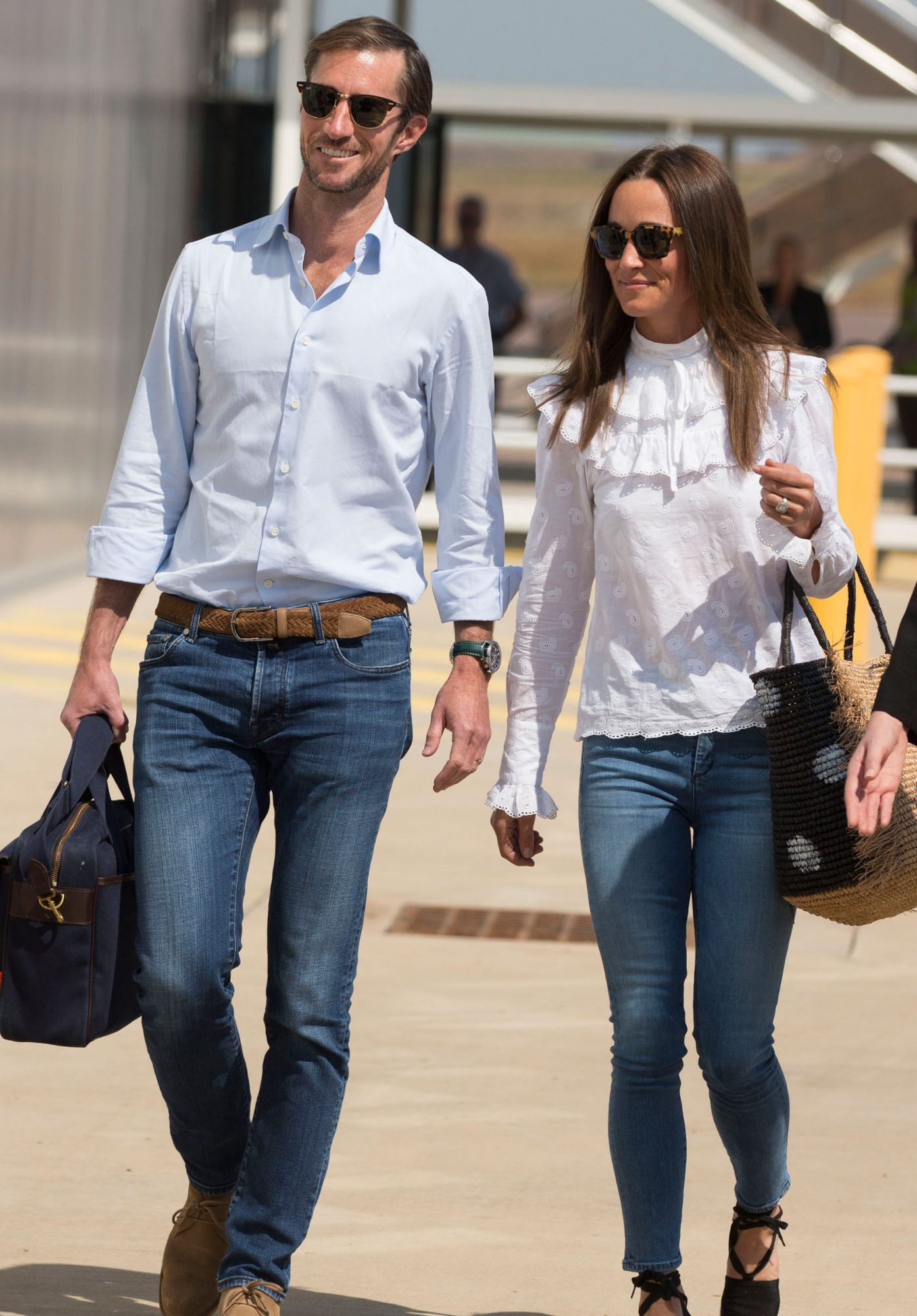 Pippa Middleton & James Matthews Sighting - June 1, 2017