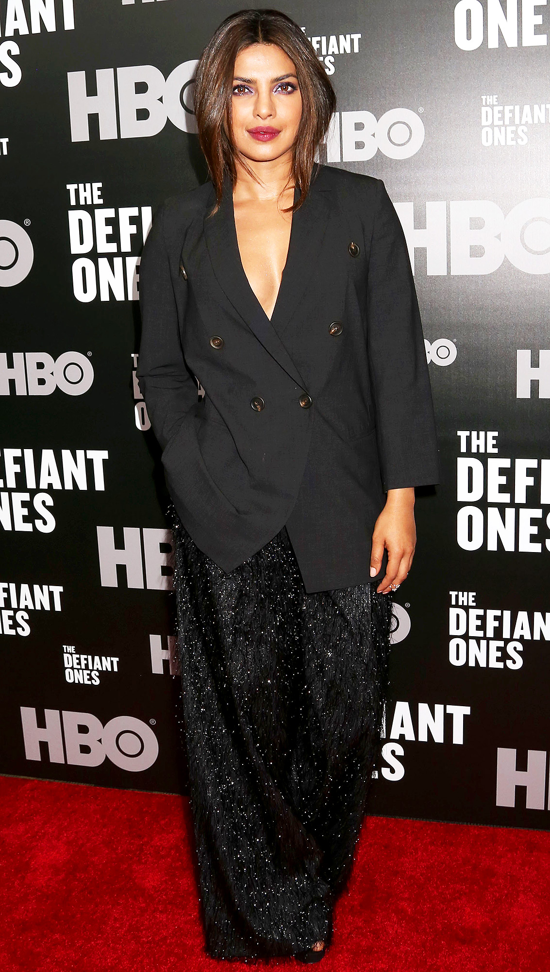 Stars attend the premiere of 'The Defiant Ones' in New York