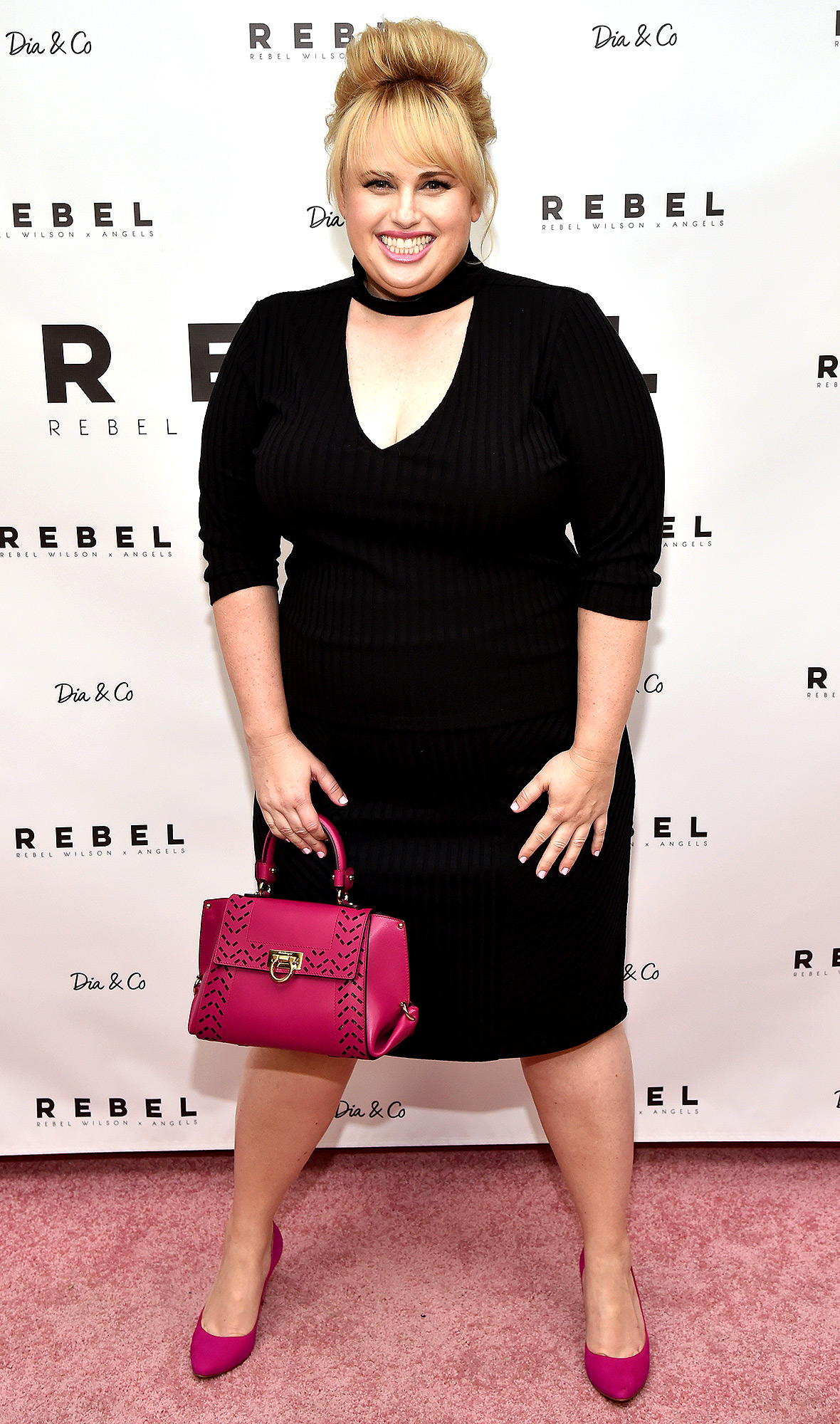 Rebel Wilson At The REBEL WILSON X ANGELS Collection Launch Party At Dia&Co In New York City