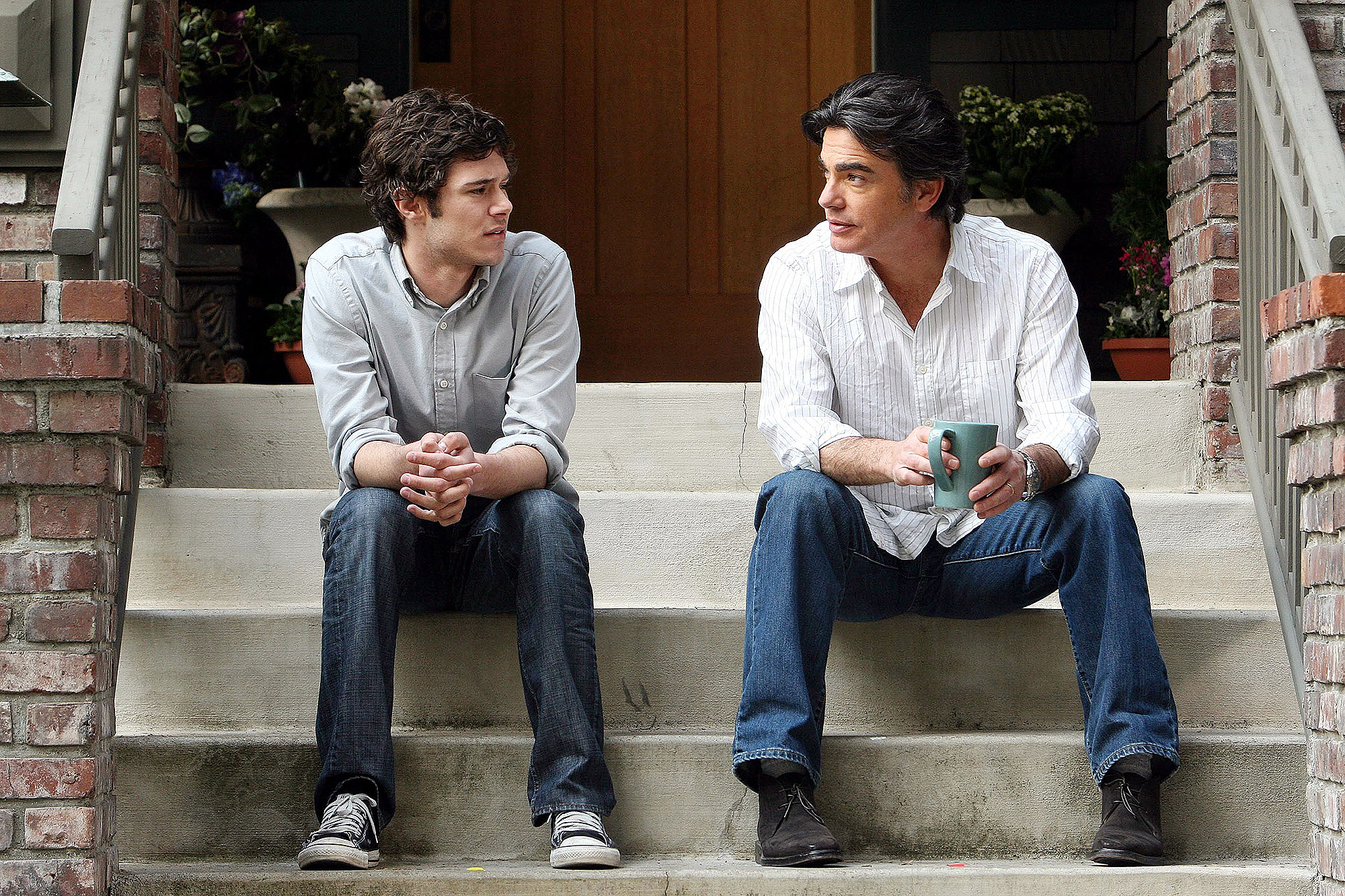 THE O.C., Adam Brody, Peter Gallagher, Series Finale: 'The End Isn't Near, It's Here', (Season 4, ai