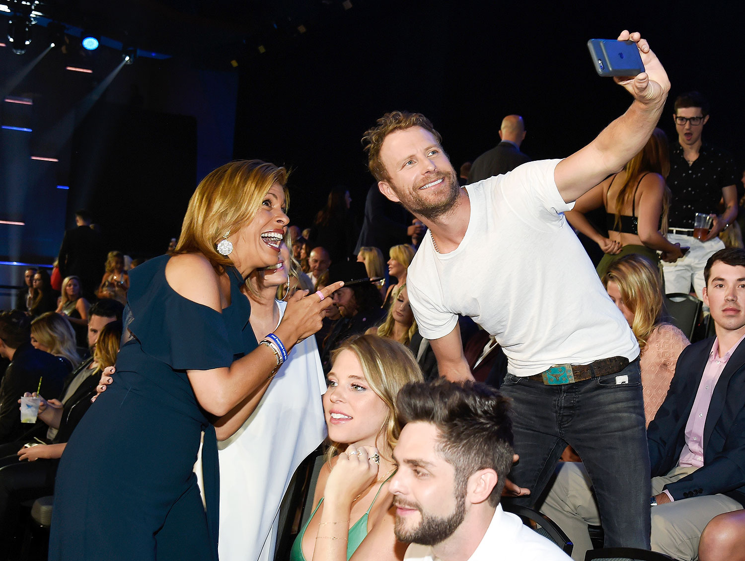 2017 CMT Music Awards - Backstage & Audience