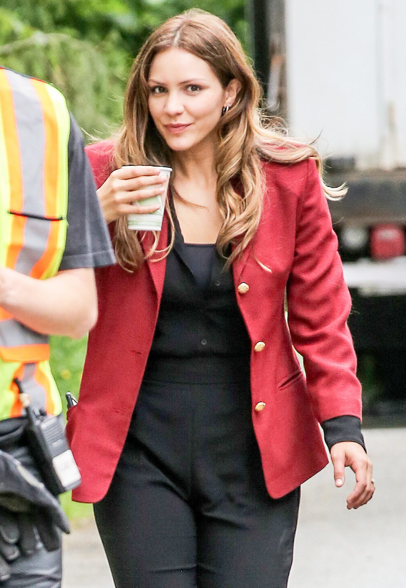 EXCLUSIVE: Katharine McPhee is Spotted on set of 'The Lost Wife of Robert Durst' in Vancouver