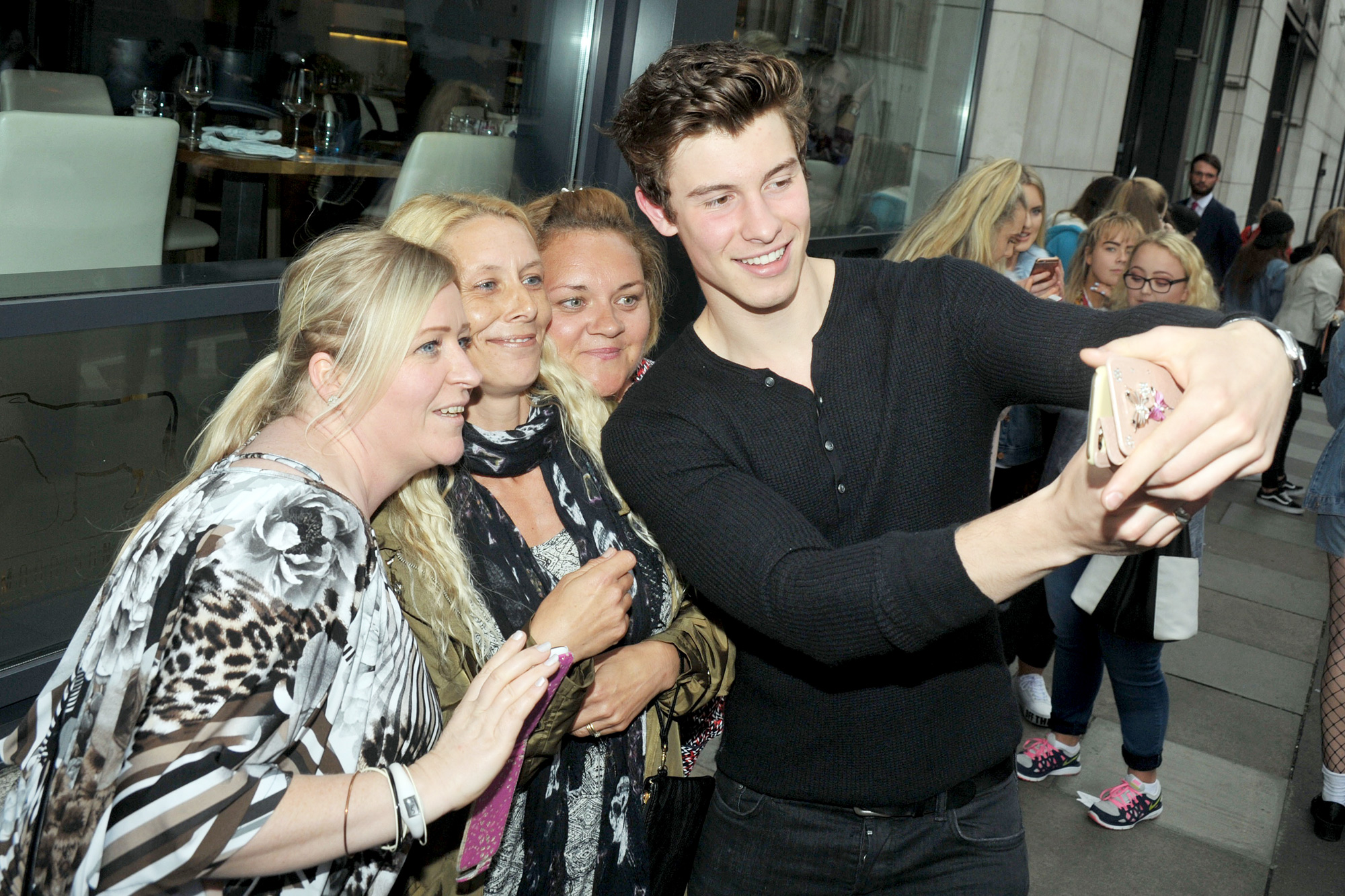 EXCLUSIVE: Shawn Mendes Arrives Outside The Morrison Hotel In Dublin