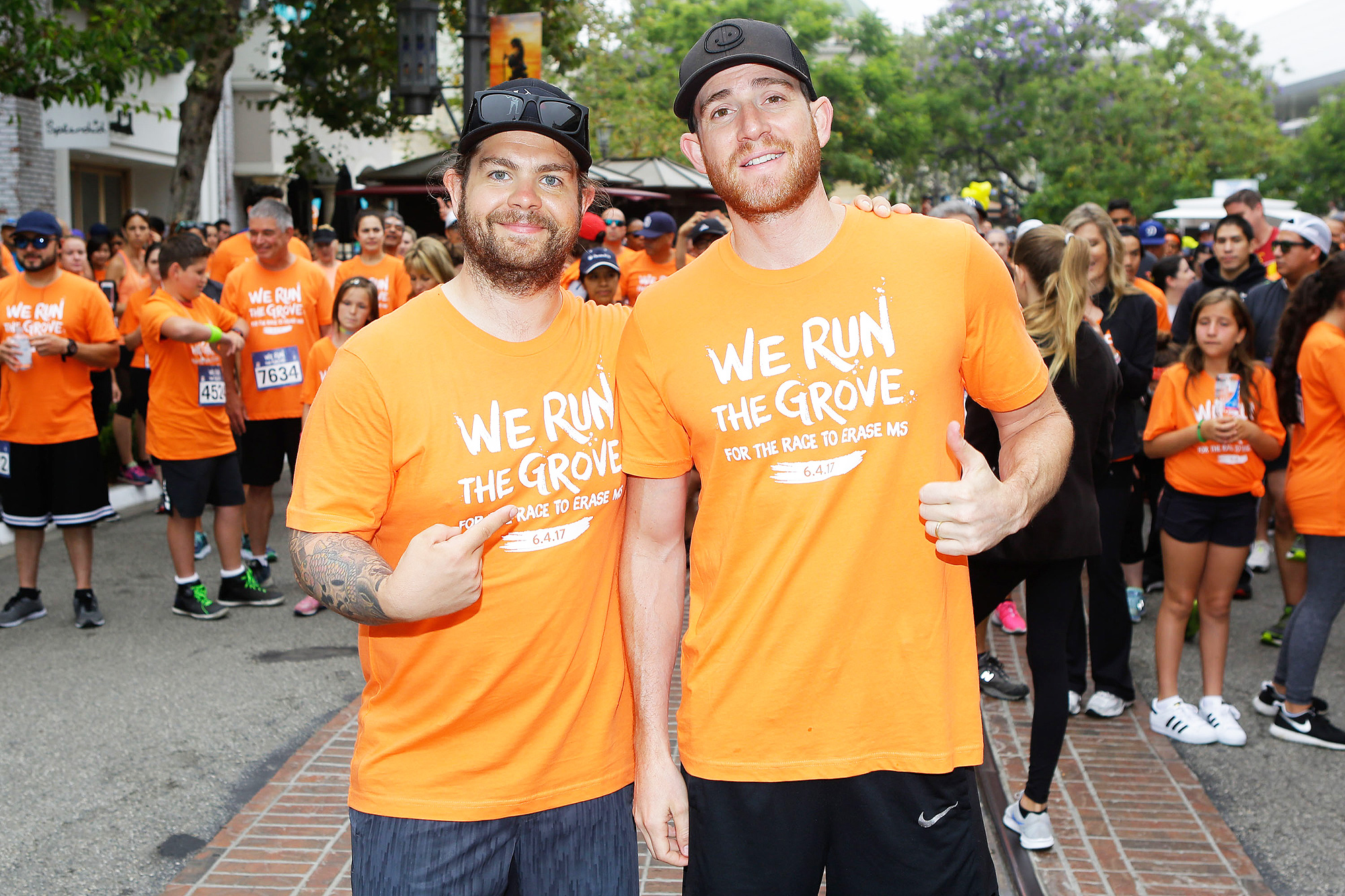 Honorary Chair Jack Osbourne Hosts We Run The Grove For The Race to Erase MS
