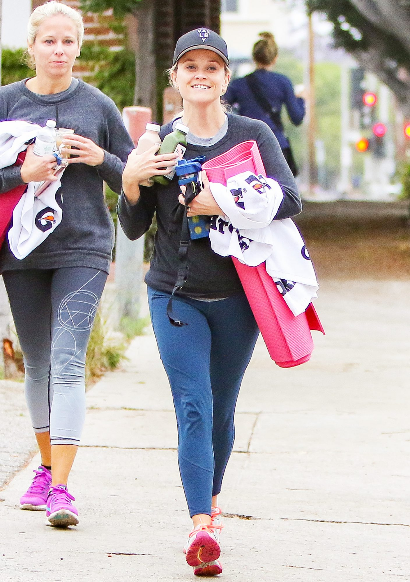 Reese Witherspoon's post yoga outing