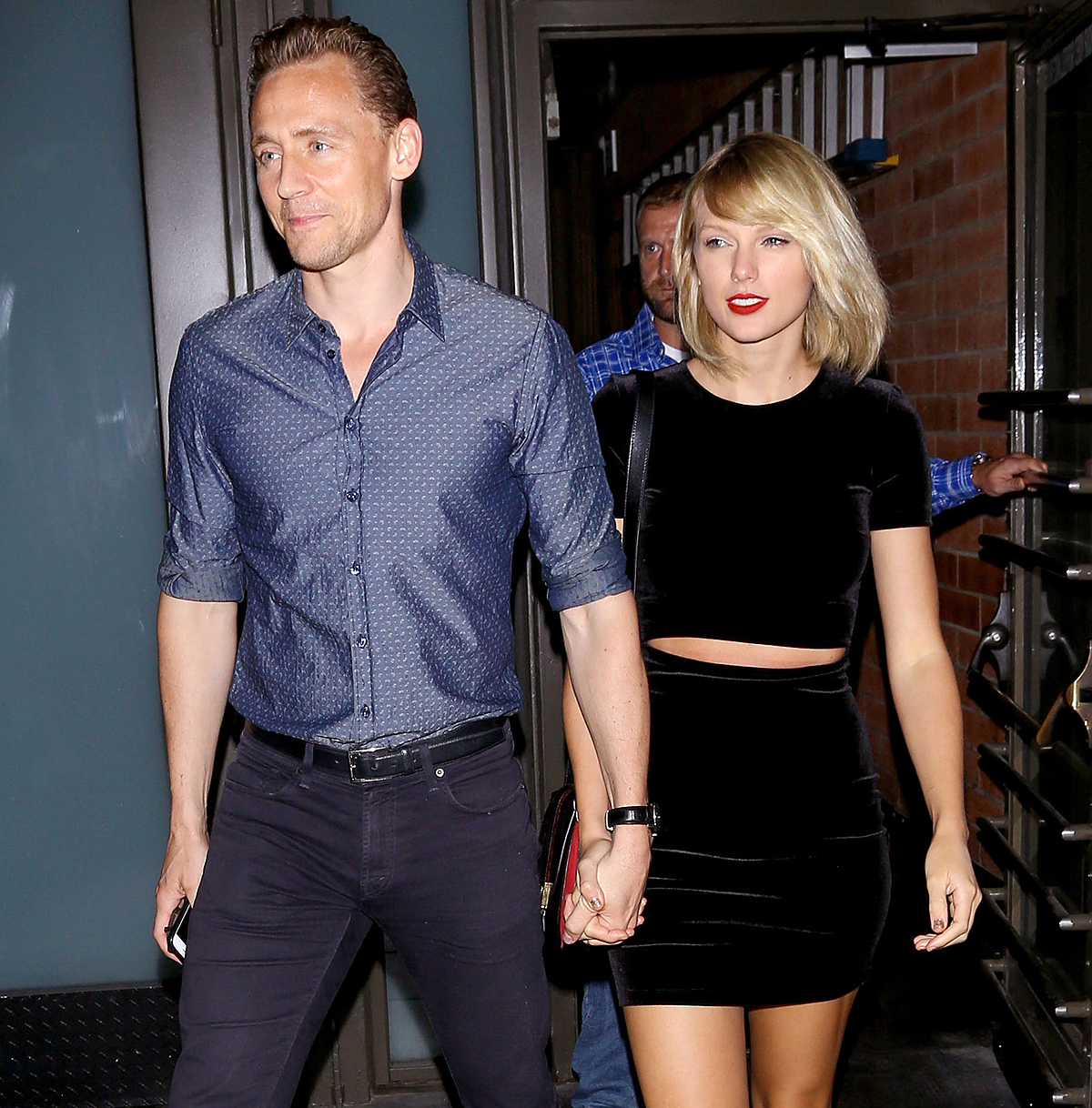 *PREMIUM EXCLUSIVE* Taylor Swift and Tom Hiddleston have a dinner date **WEB EMBARGO UNTIL 10AM PST ON 07/29/16**