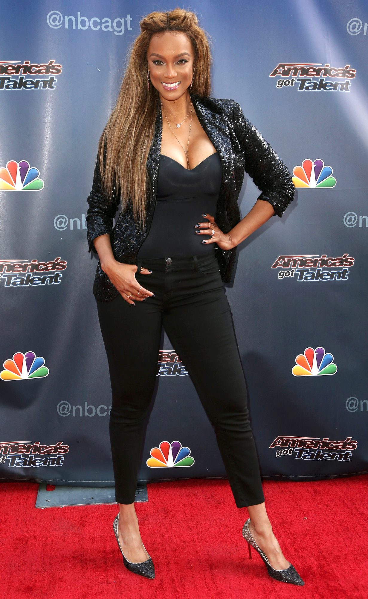 'America's Got Talent' TV show photocall, Los Angeles, USA - 05 Jul 2017