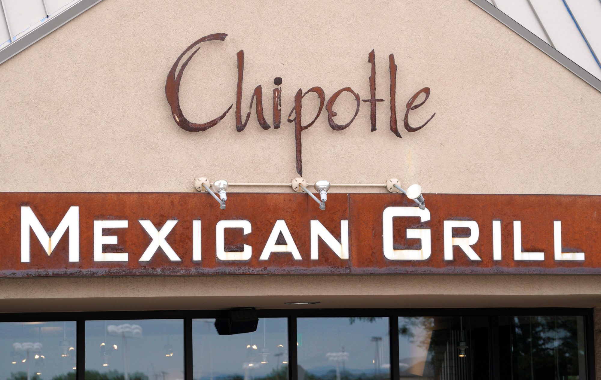The logo of a Chipotle restaurant is seen in Golden, Colorado