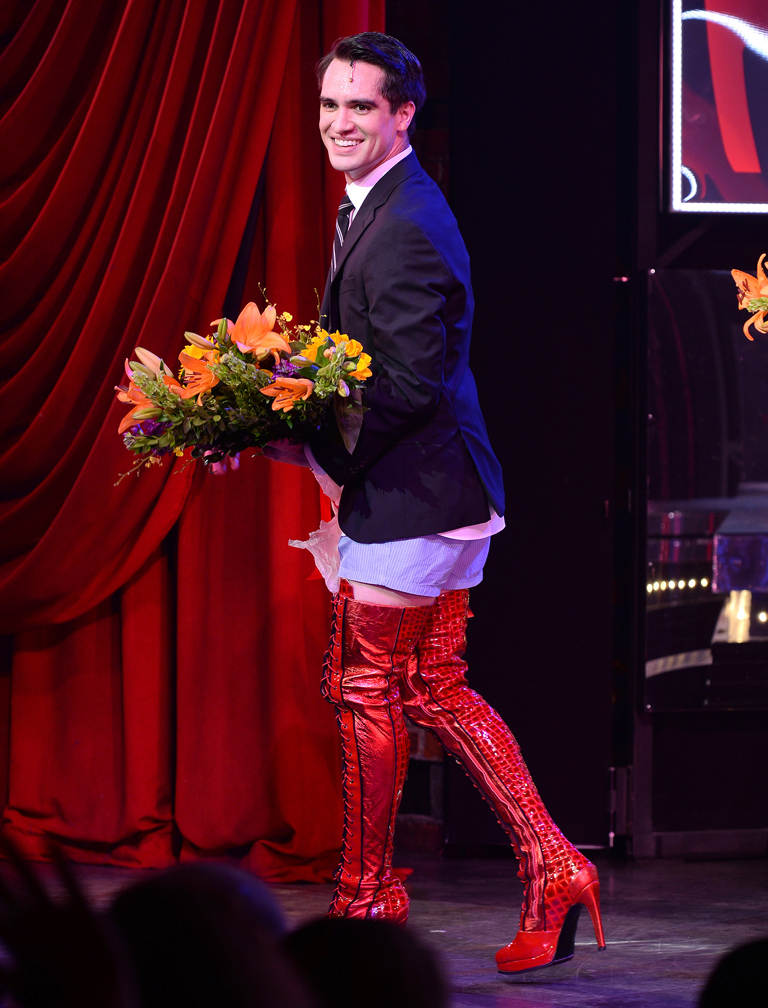 """Brendon Urie Makes His Broadway Debut In """"Kinky Boots"""""""