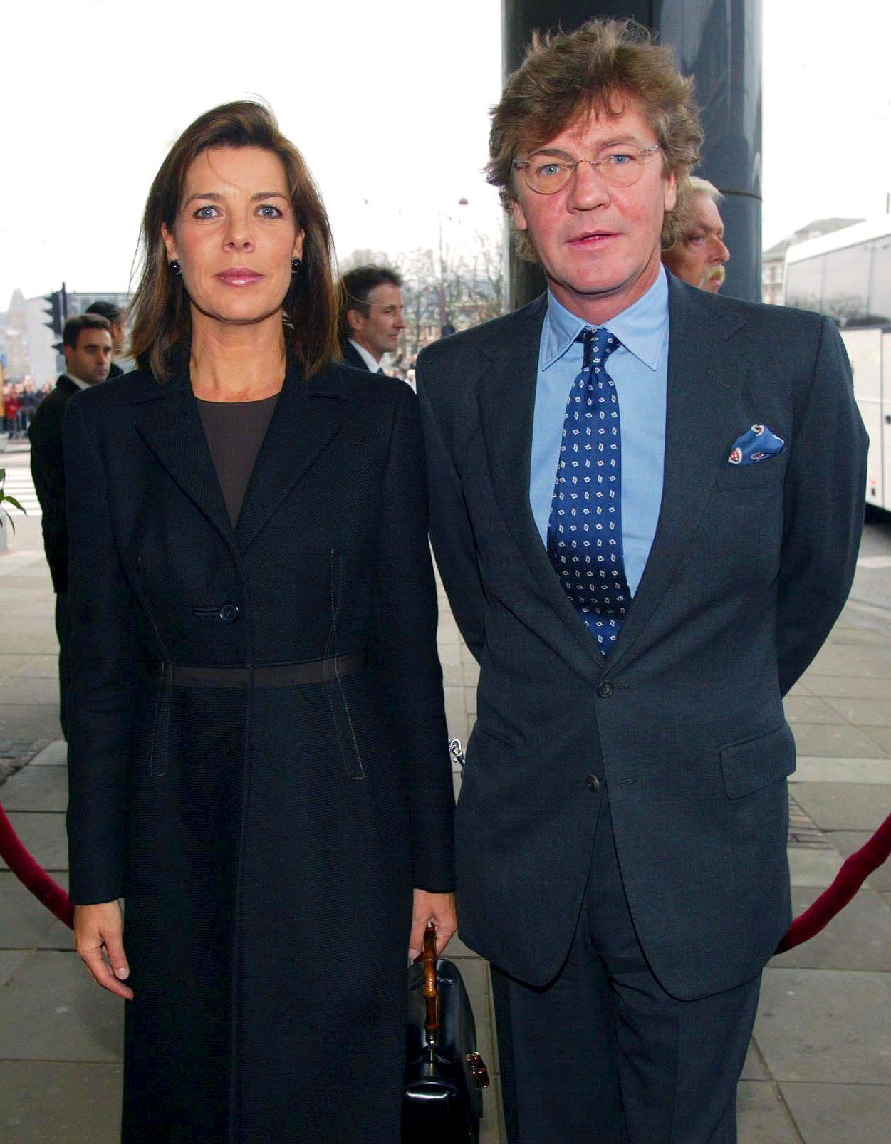 "Arrival for Lunch concert ""Concertgebouw"" in Amsterdam In Amsterdam, Netherlands On February 01, 2002-"
