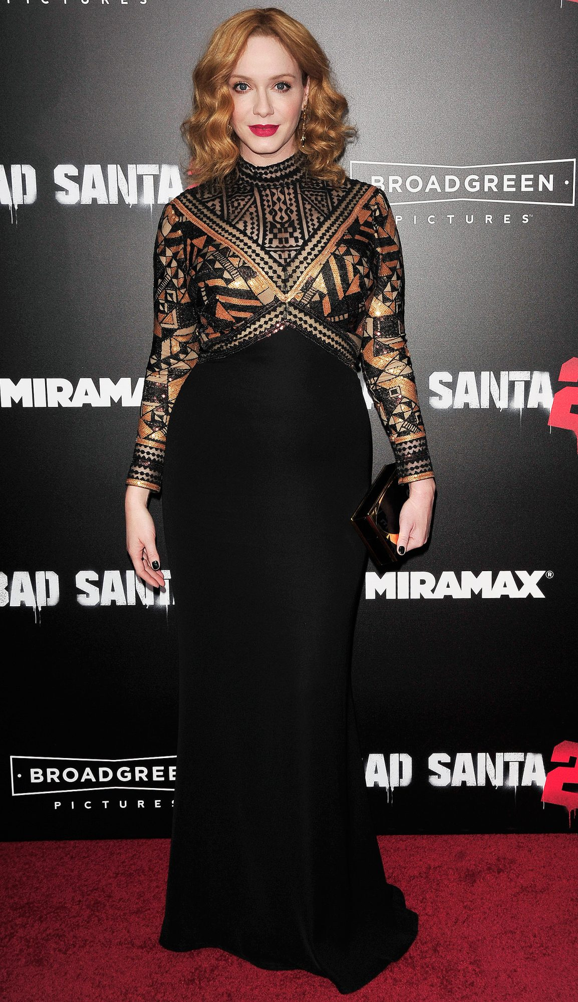 Celebrities attend The Premiere of Bad Santa 2 Held in New York City.