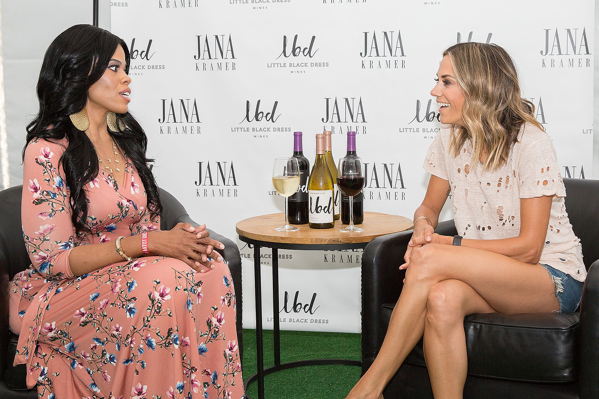 LBD Wines and LBD Wines Spokesperson Jana Kramer Host Mentoring Session with Dress for Success Client in Chicago