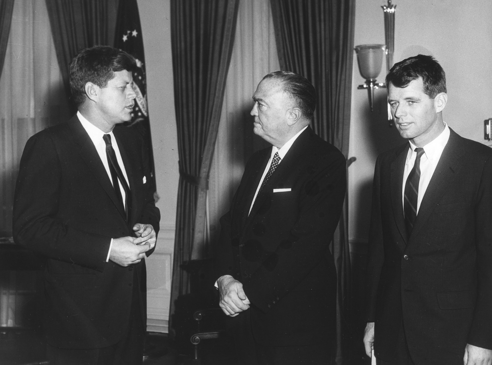 JFK, Hoover, & RFK In The White House