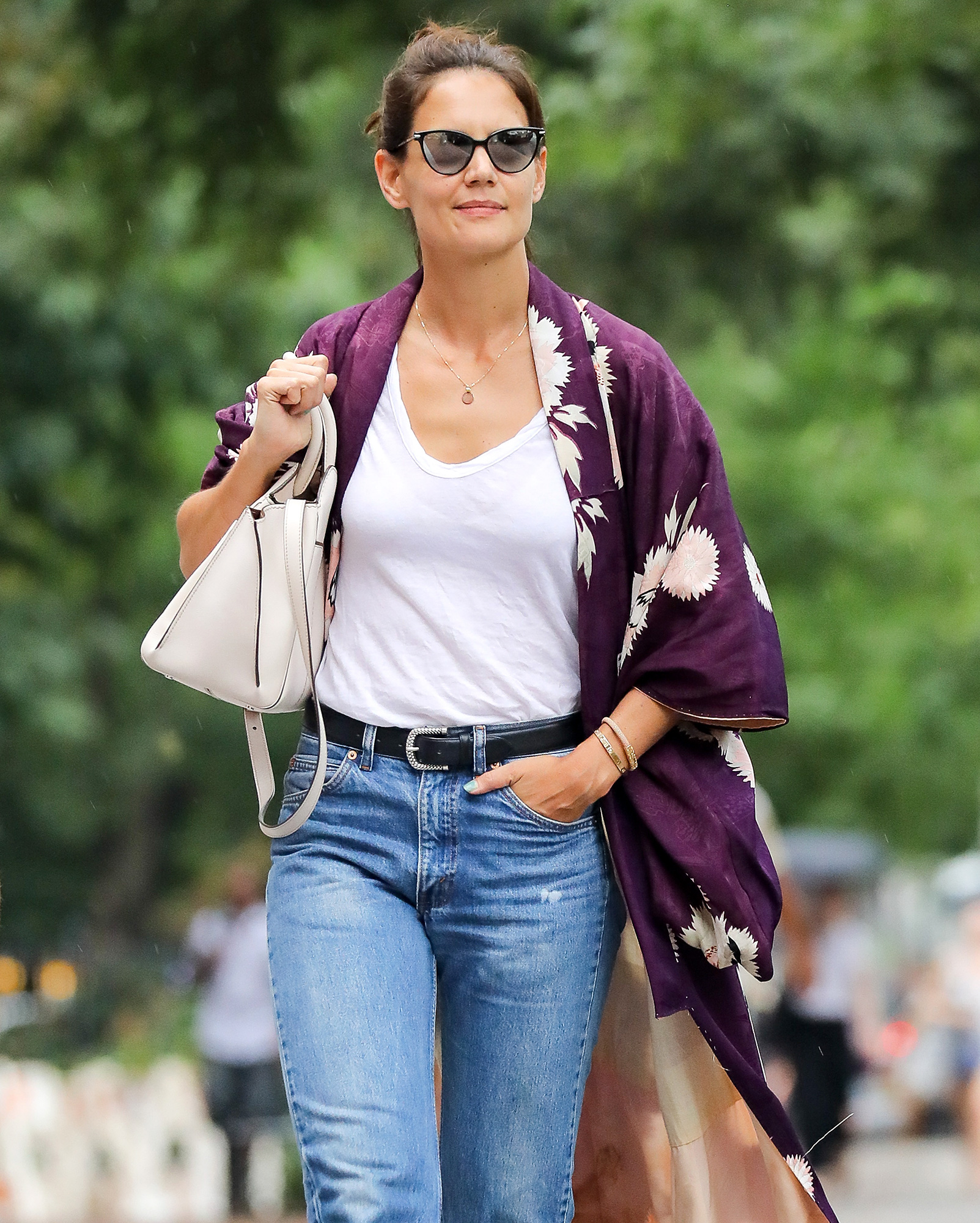 EXCLUSIVE: Katie Holmes looking casual chic in New York