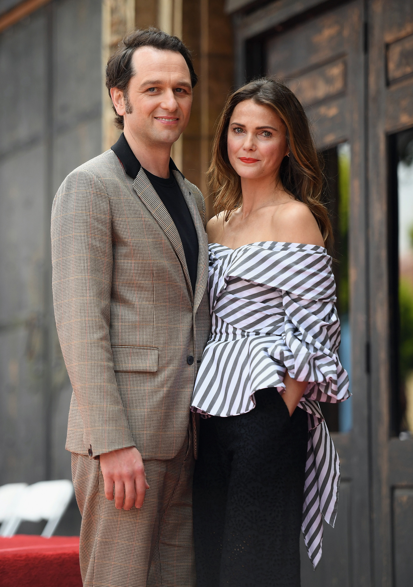 Keri Russell Honored With Star On The Hollywood Walk Of Fame