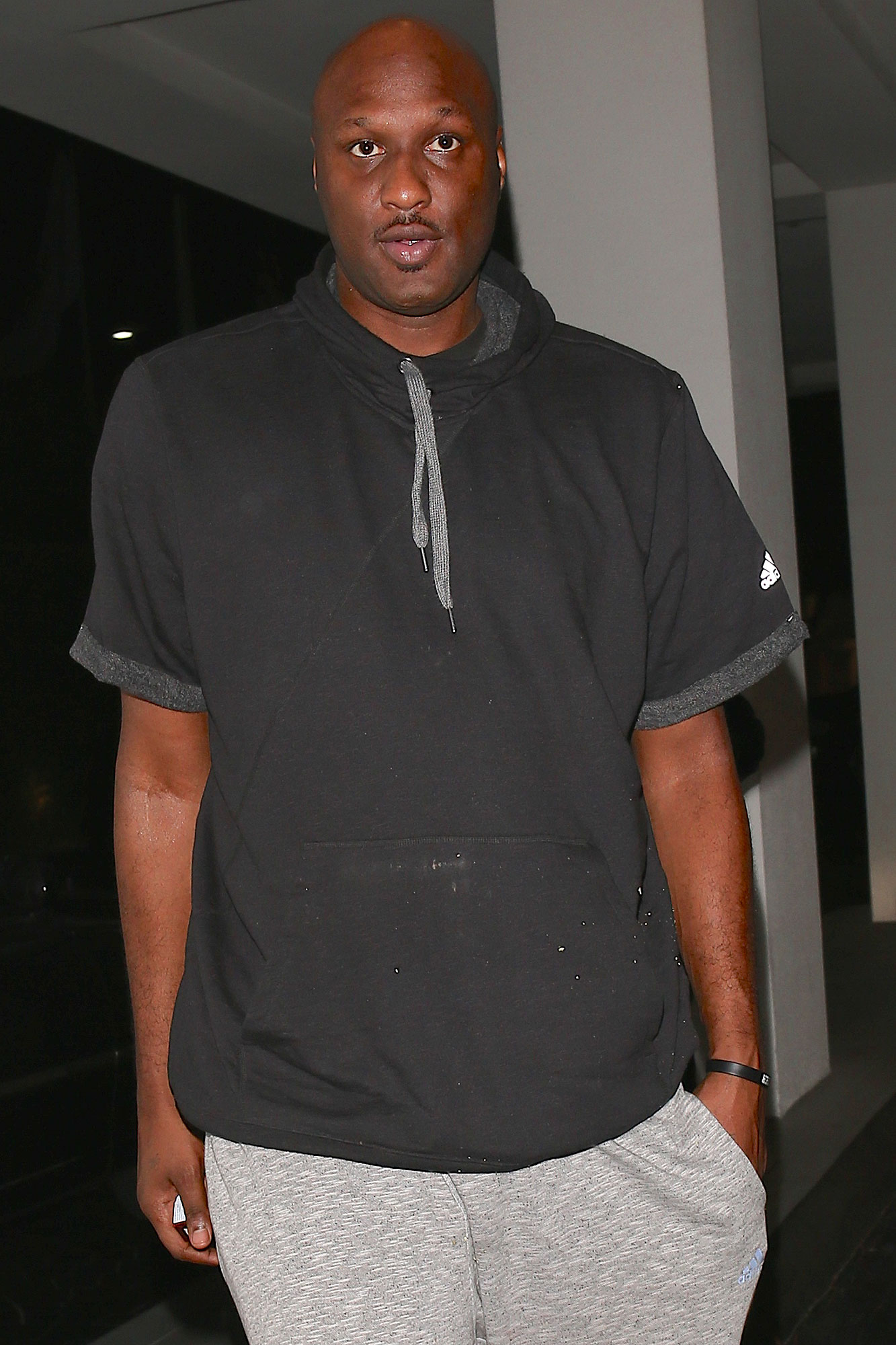 """Lamar Odom continues working on himself and avoids negative influences while recently celebrating his 37th birthday on Sunday. A source says the former NBA star rang in his birthday at home in Los Angeles with some of his best friends and family. """"They had a low-key dinner and it was a nice celebration,"""" says the insider. """"Lamar wanted to keep it really simple."""" According to the source, """"it's been a great thing for Lamar to be back in L.A."""" """"He's away from the negative influences in New York,"""" says the source. """"Everyone who knows and loves him just wants him to get back to his old self, but that will still take some time. He's been through a lot and he's still working on himself."""" AKM-GSI November 9, 2016"""