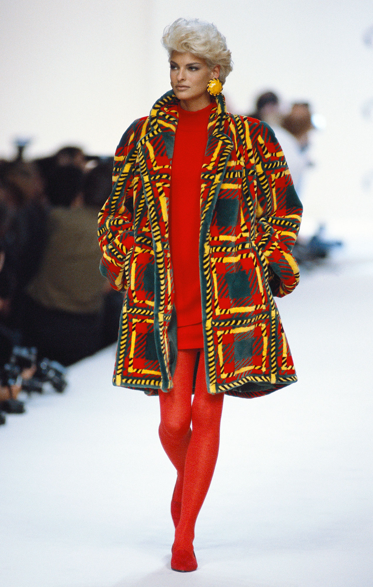 Oscar de la Renta Autumn-Winter 1991-1992 Fashion Show