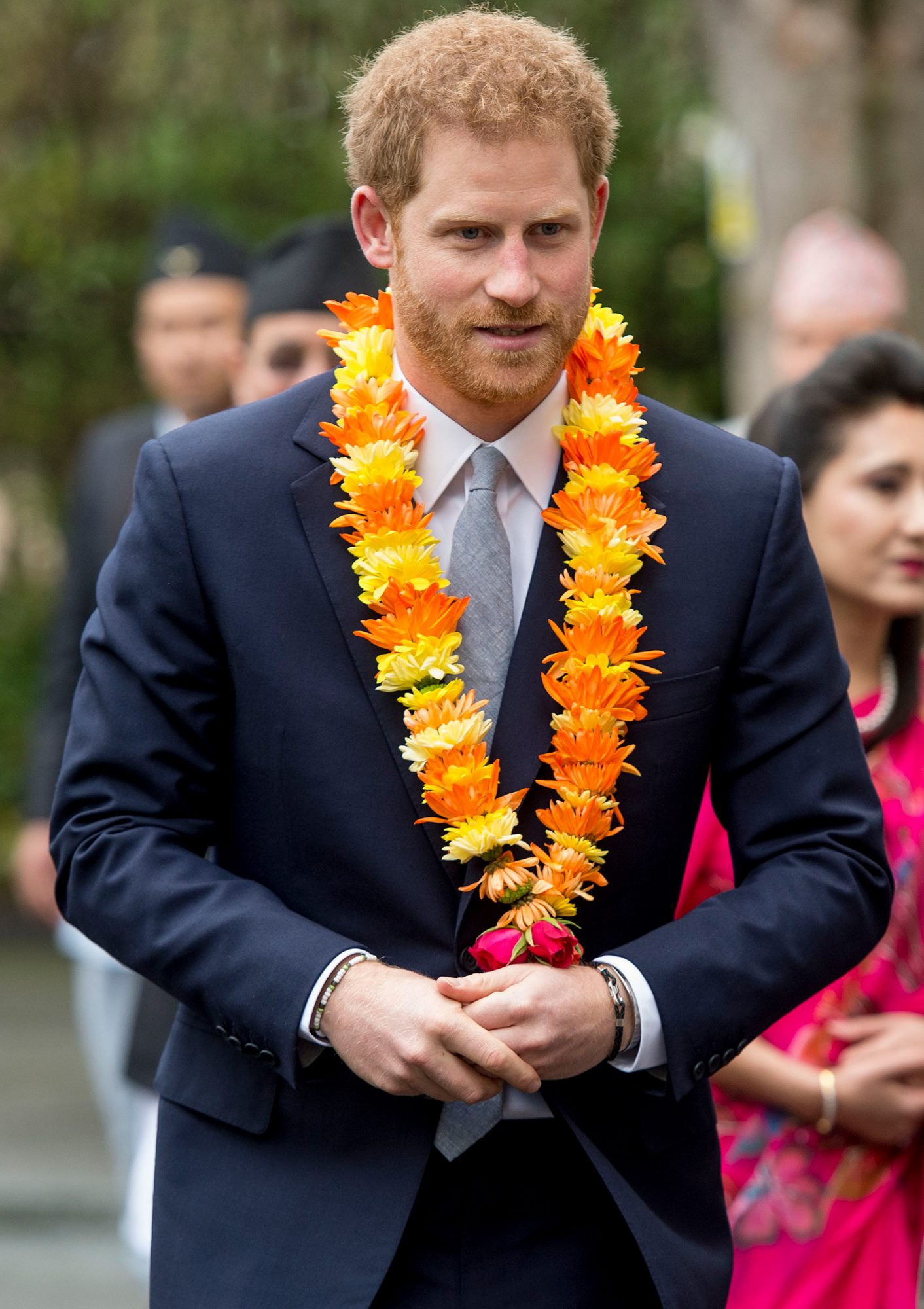 Prince Harry Attends A Ceremony To Celebrate The Bicentenary Of Relations Between The United Kingdom And Nepal