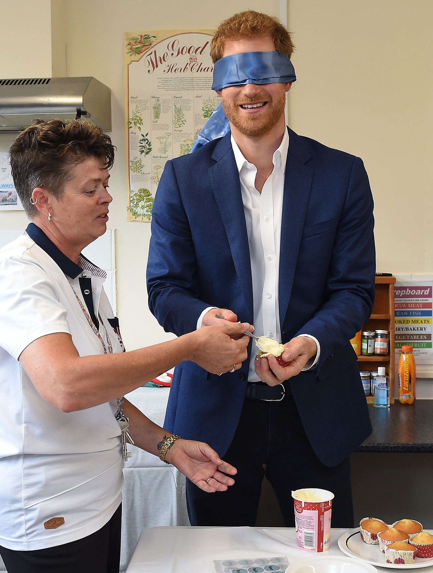 Prince Harry Visits Suffolk