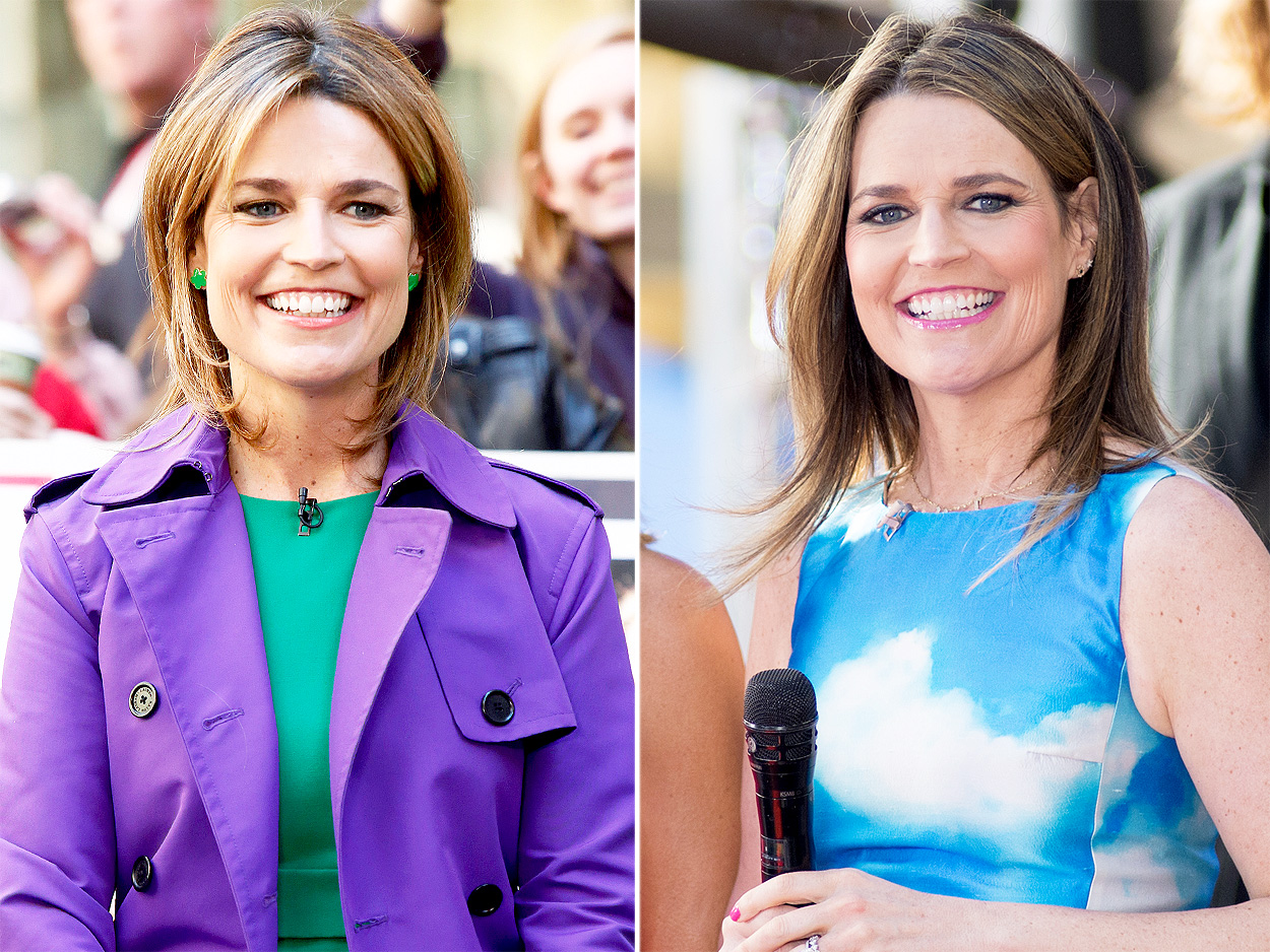 Savannah Guthrie Celebrates 5 Year Anniversary On Today Show People Com