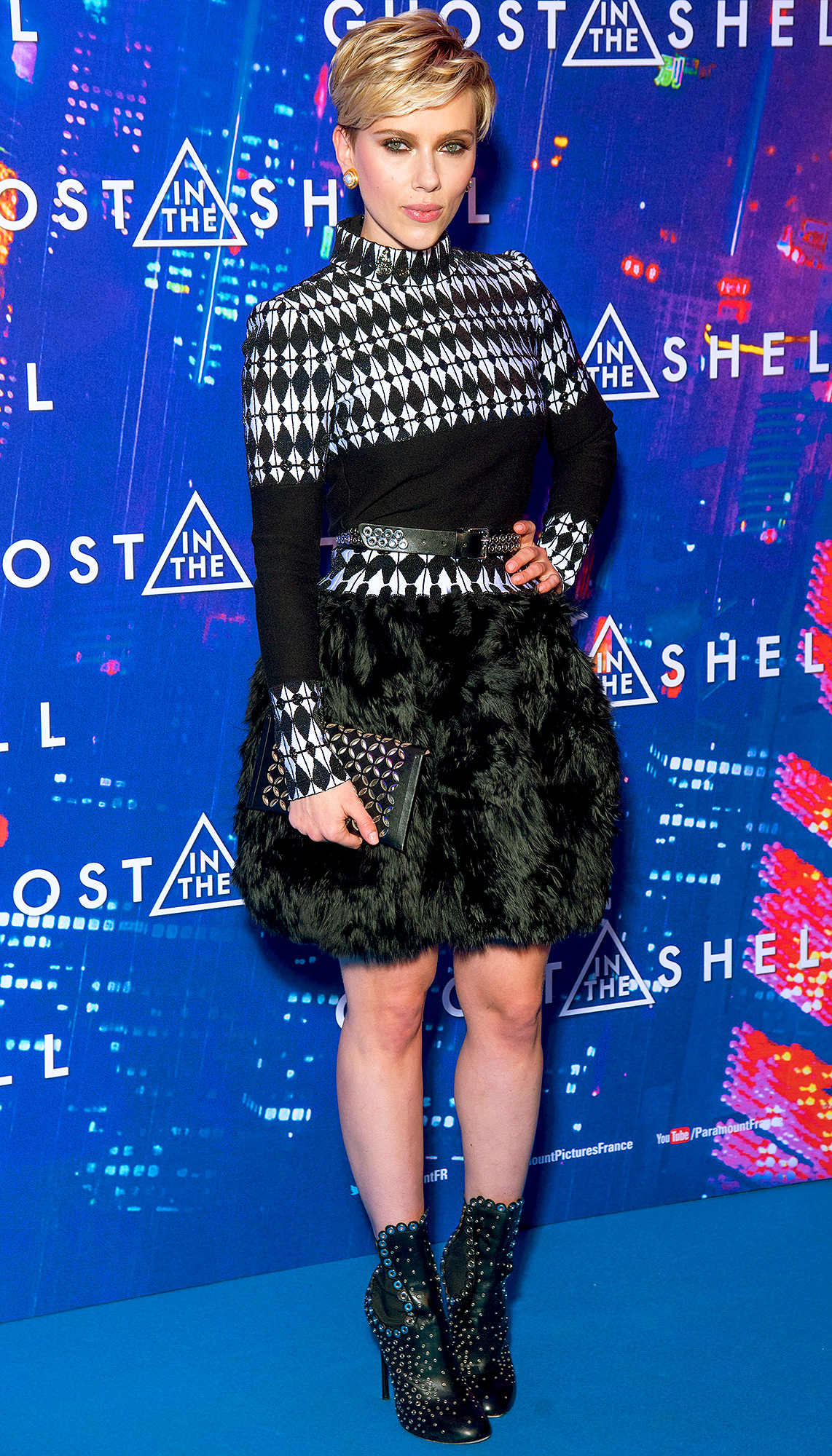 Celebrities attend 'Ghost in the shell' film premiere in Paris